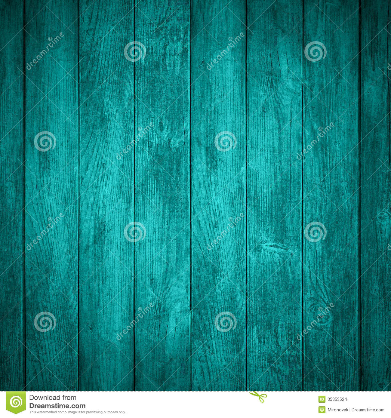 Turquoise Wooden Background Stock Photo Image 35353524