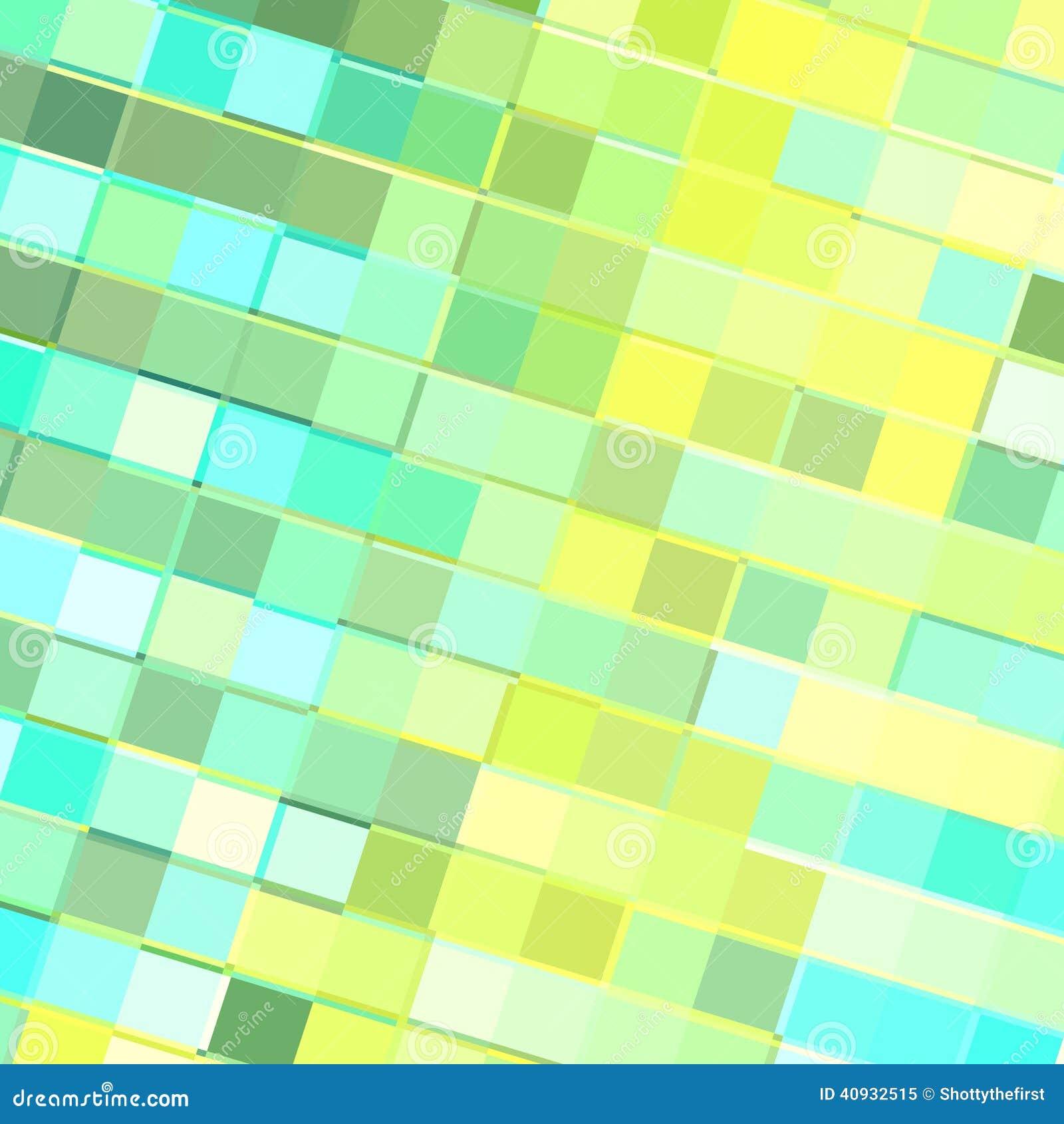 Turquoise Yellow Tiles stock illustration. Illustration of book ...