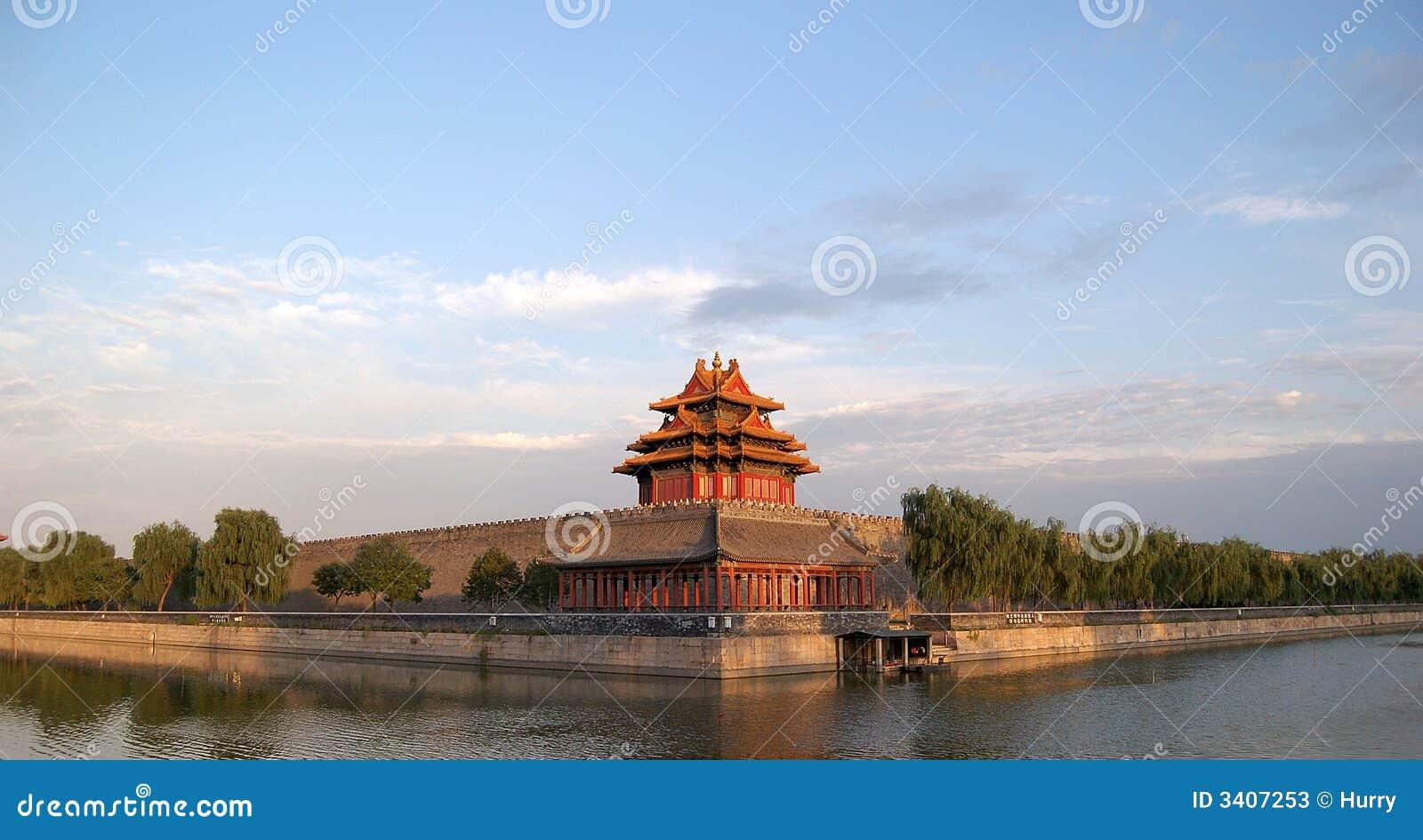 Turret, moat, Forbidden city