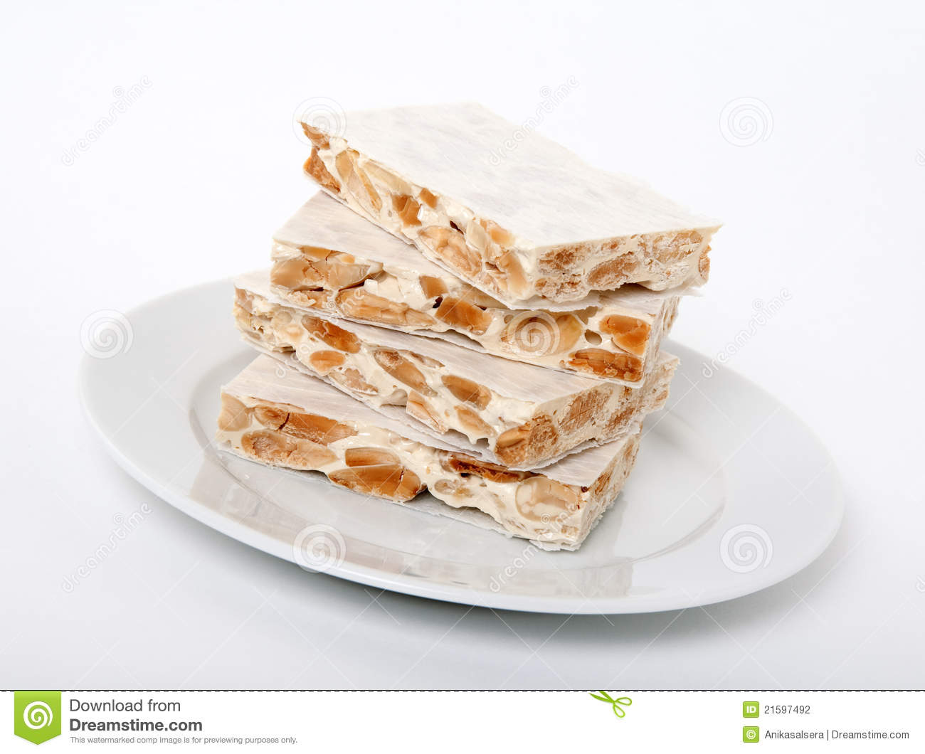 Turron Traditional Spanish Dessert Stock Photography