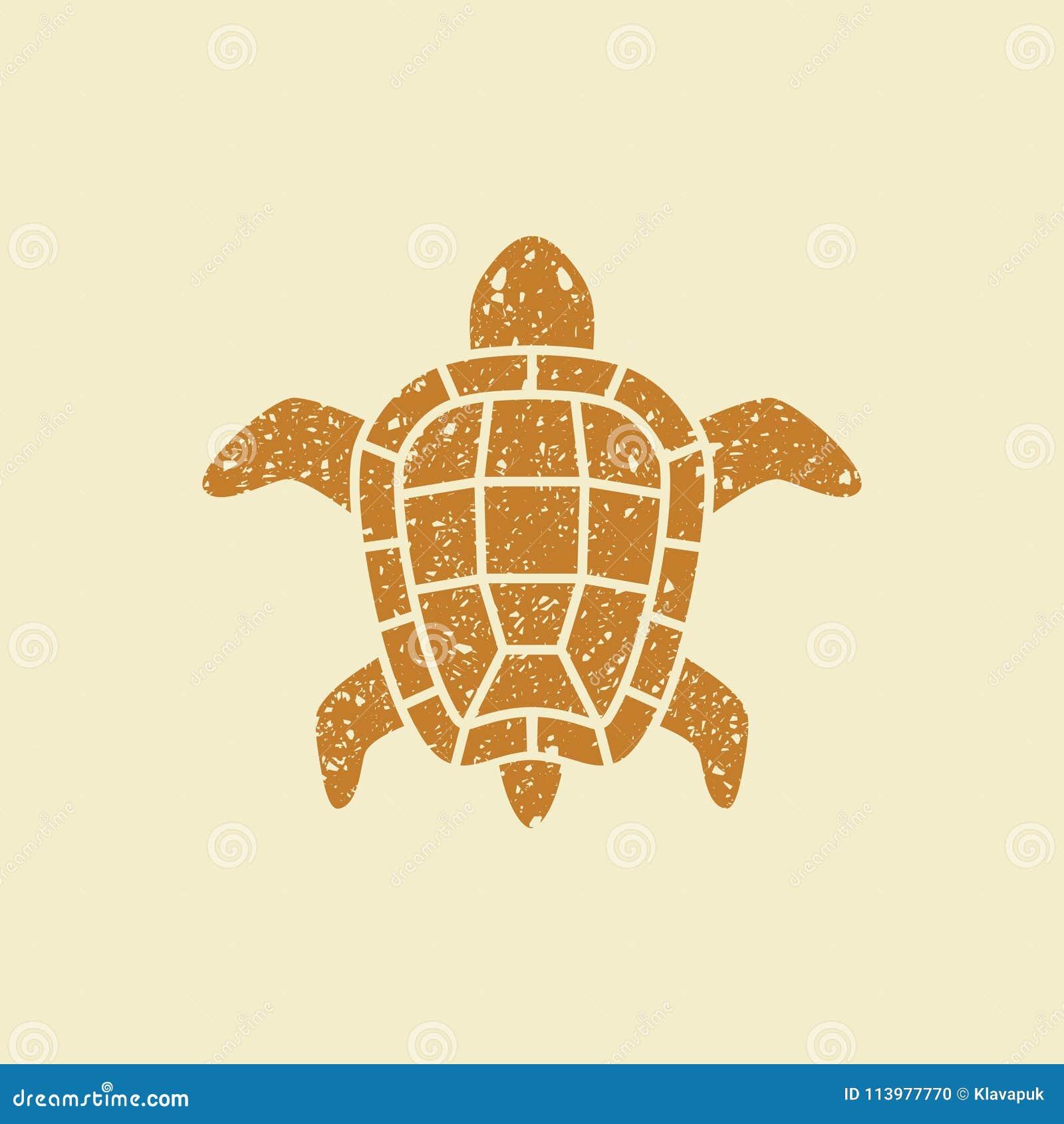8166eba48 Turtle flat icon stock vector. Illustration of shell - 113977770