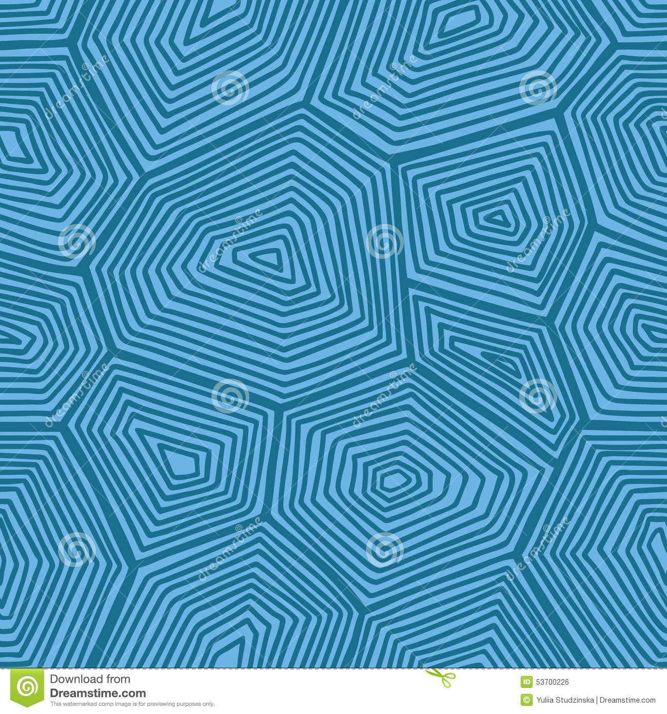 Turtle Pattern. Stock Vector - Image: 53700226