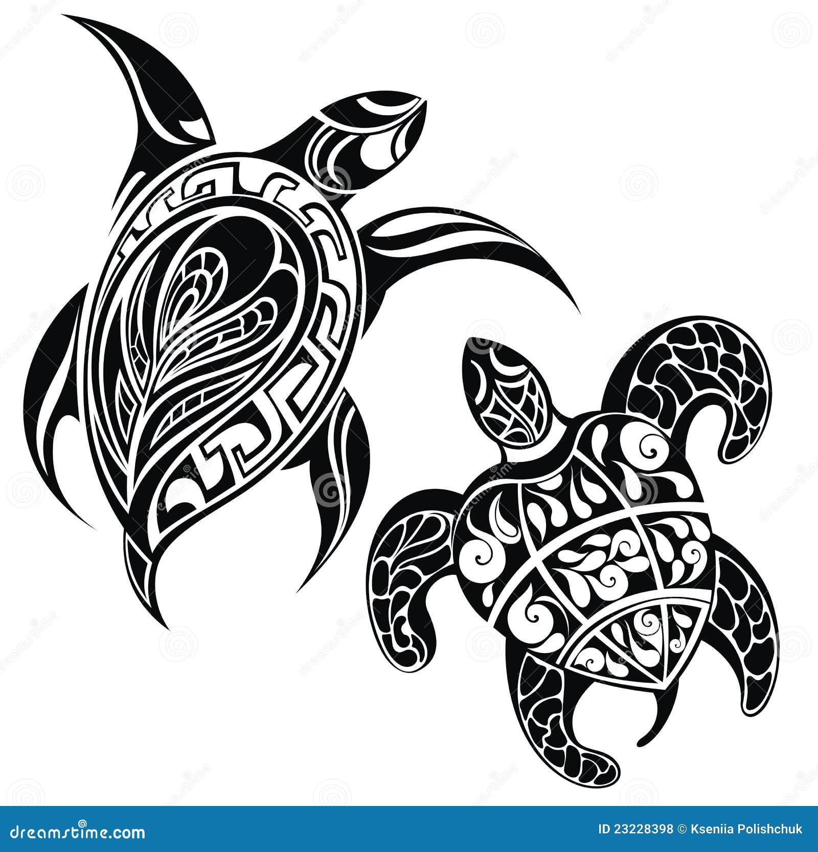 Hawaiian Tribal Tattoos Drawings