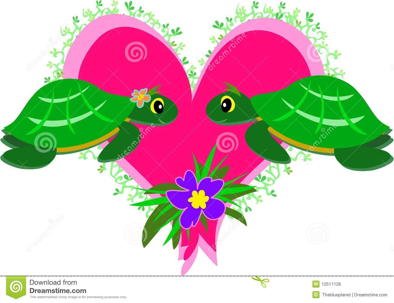 turtles in love royalty free stock image image 12511126