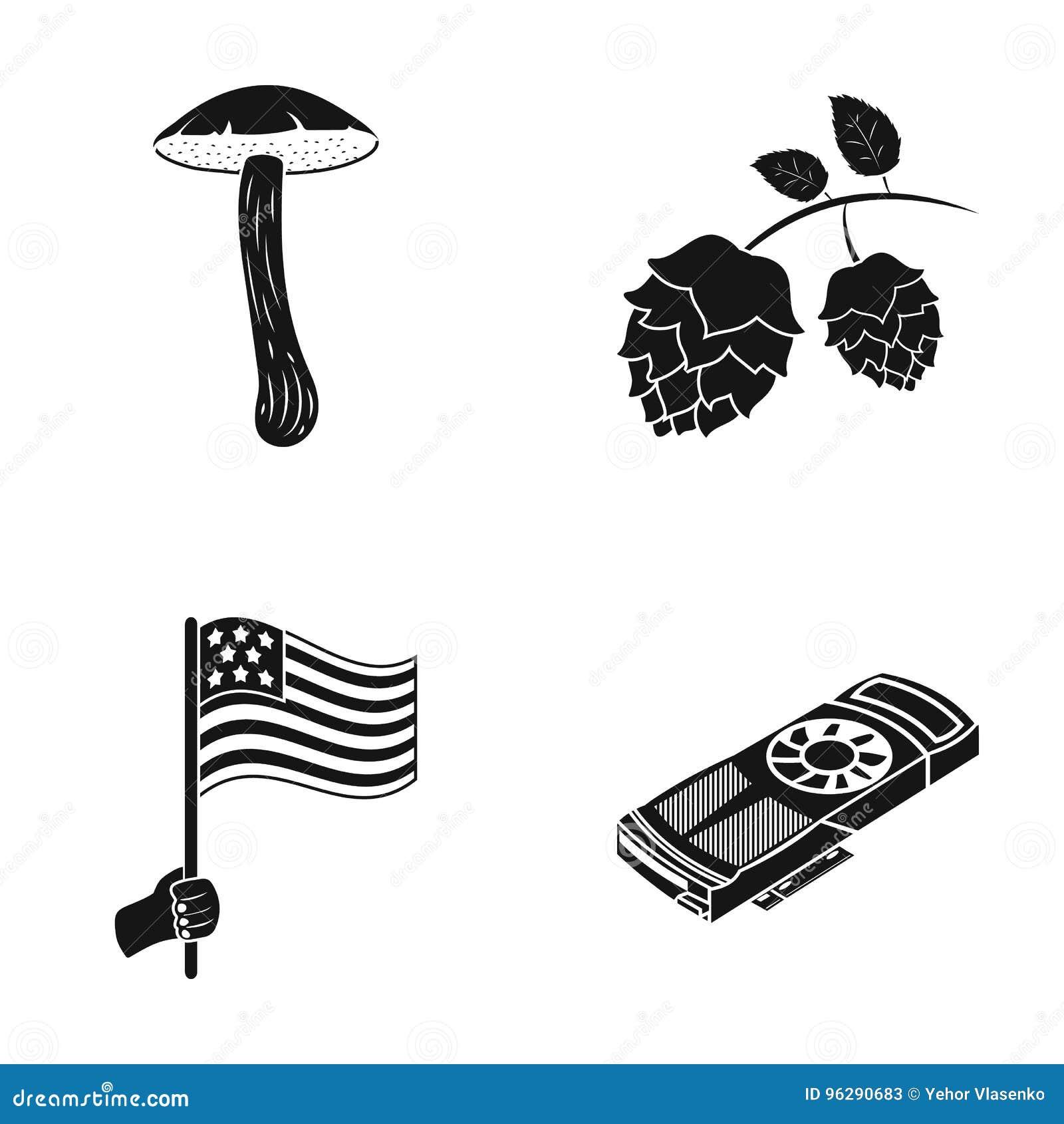 Turystyka, natura, ekologia i inna sieci ikona w czerni, projektujemy informacja, dane, wiadomość, ikony w ustalonej kolekci