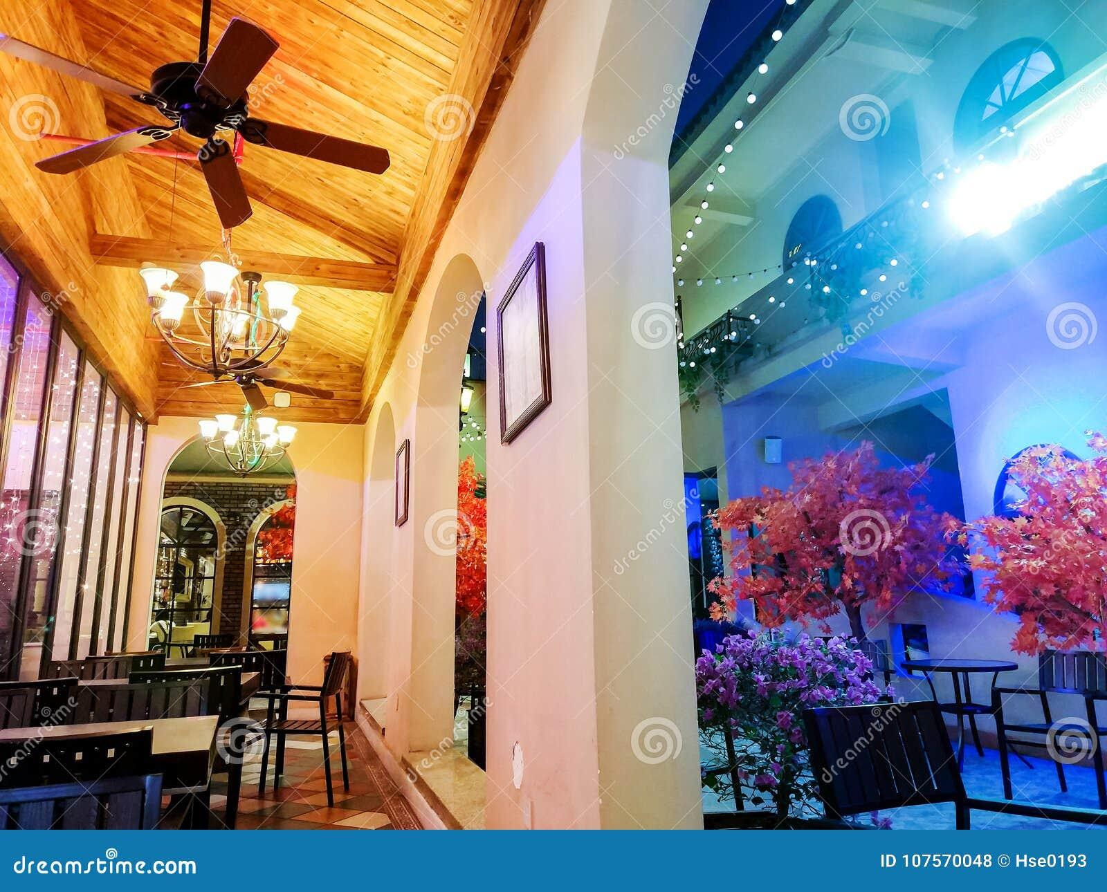 Tuscan Style Restaurant Stock Photo Image Of Cafe Patio