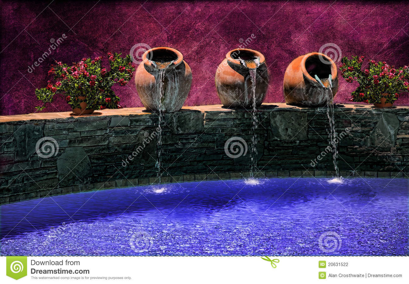 Tuscan Water Pots Stock Photography Image 20631522