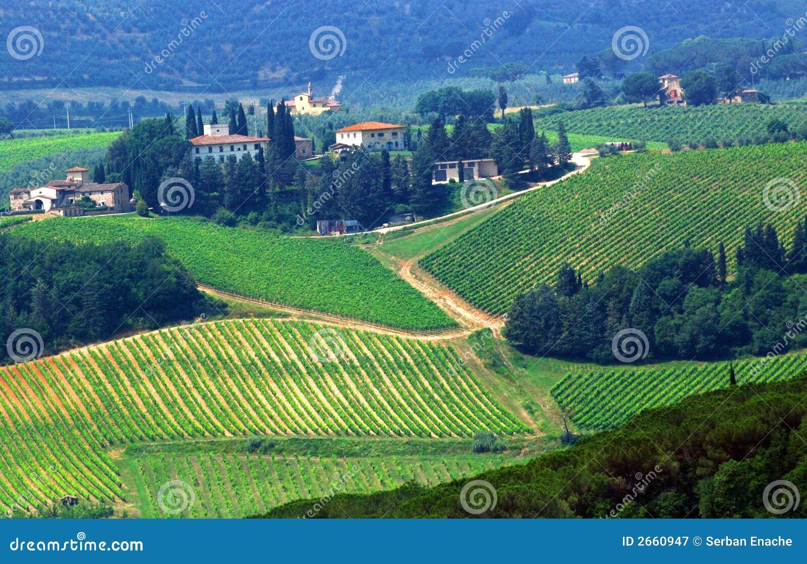 tuscany farmland royalty free stock photography