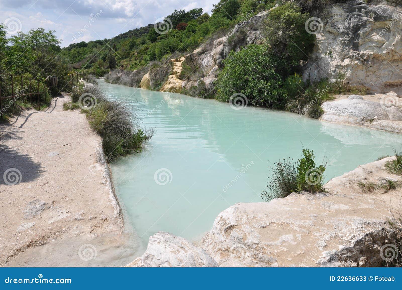 Tuscany, Hot Spring In Bagno Vignoni Stock Photos - Image: 22636633