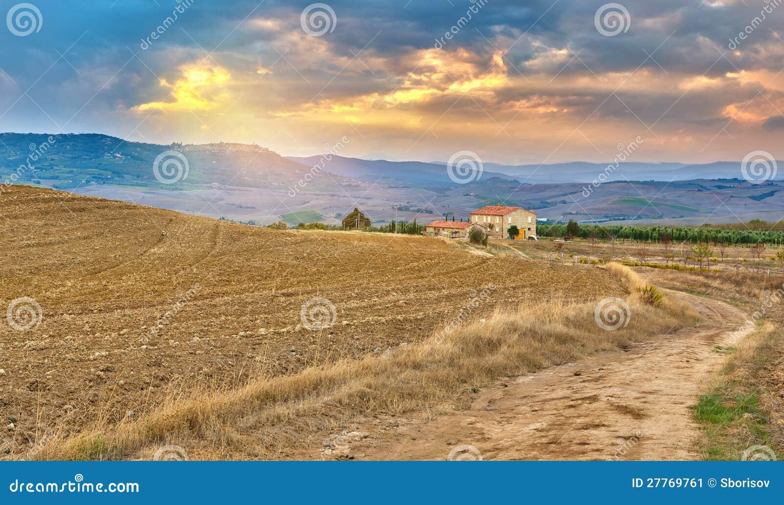 Tuscany krajobraz