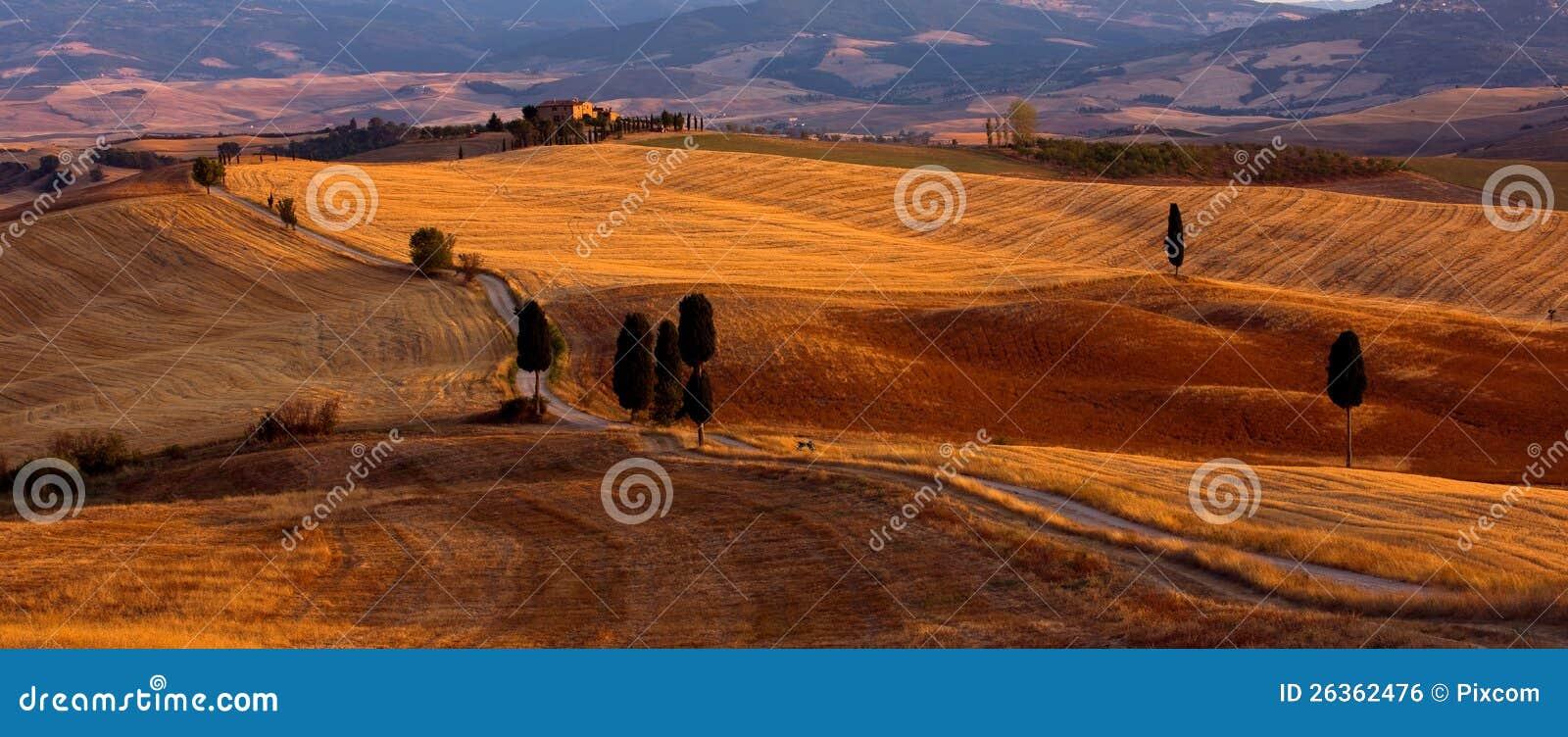 Tuscany - Orcia dal