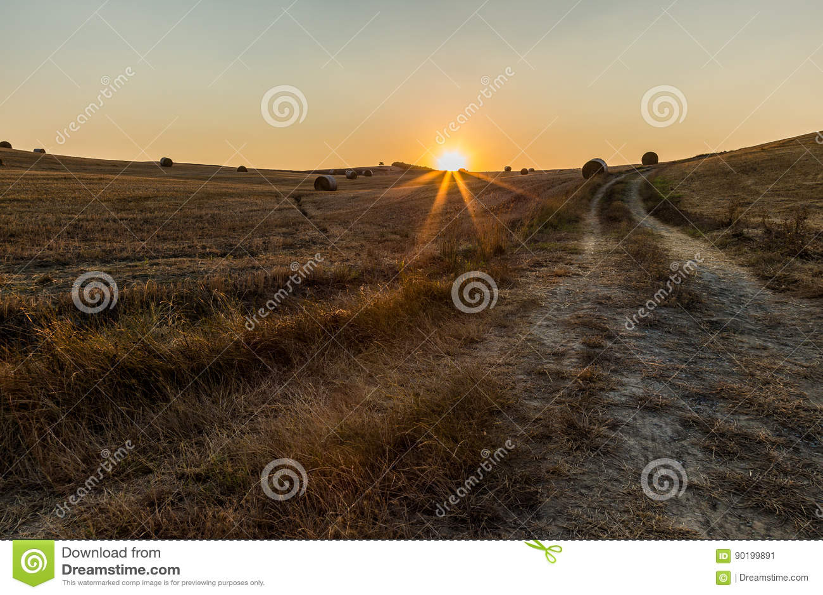 Tuscany sunset