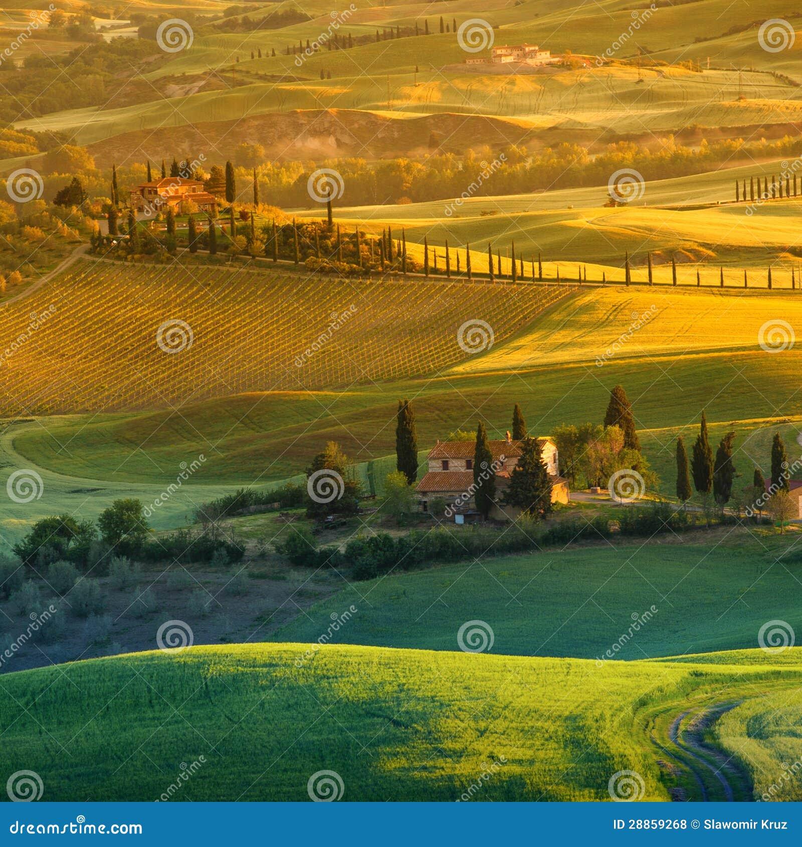 Tuscany, Włochy -