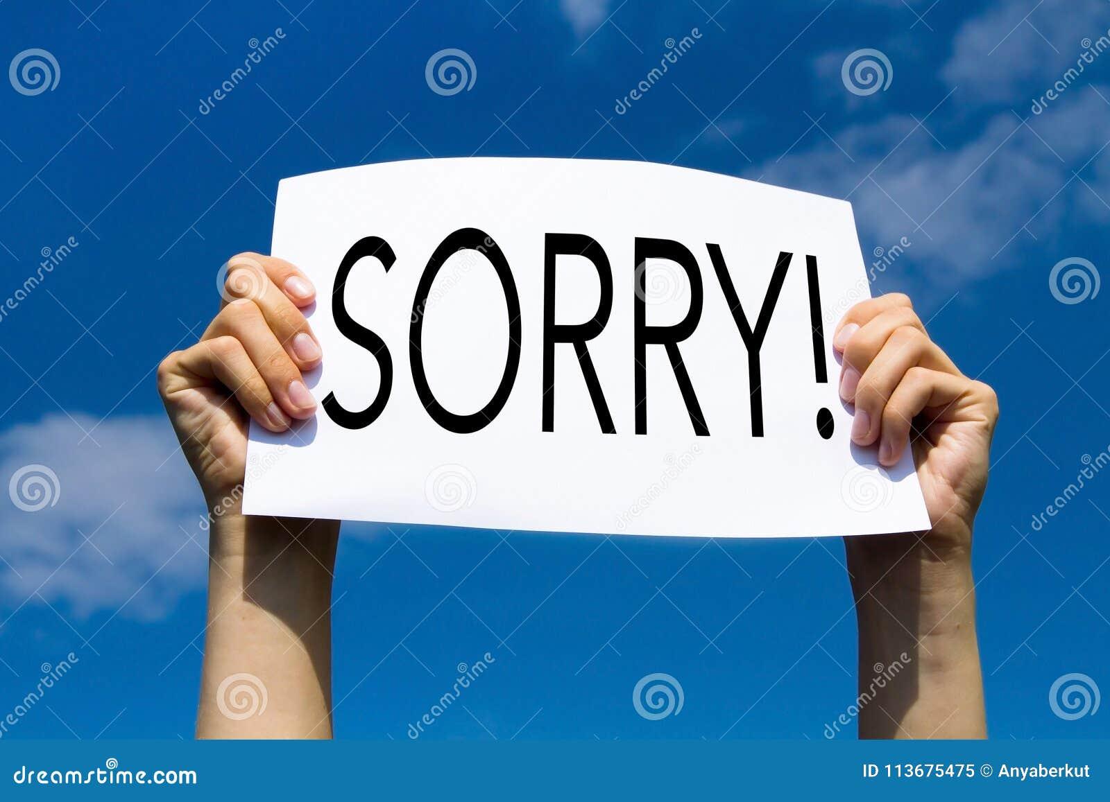 entschuldigung es tut mir leid