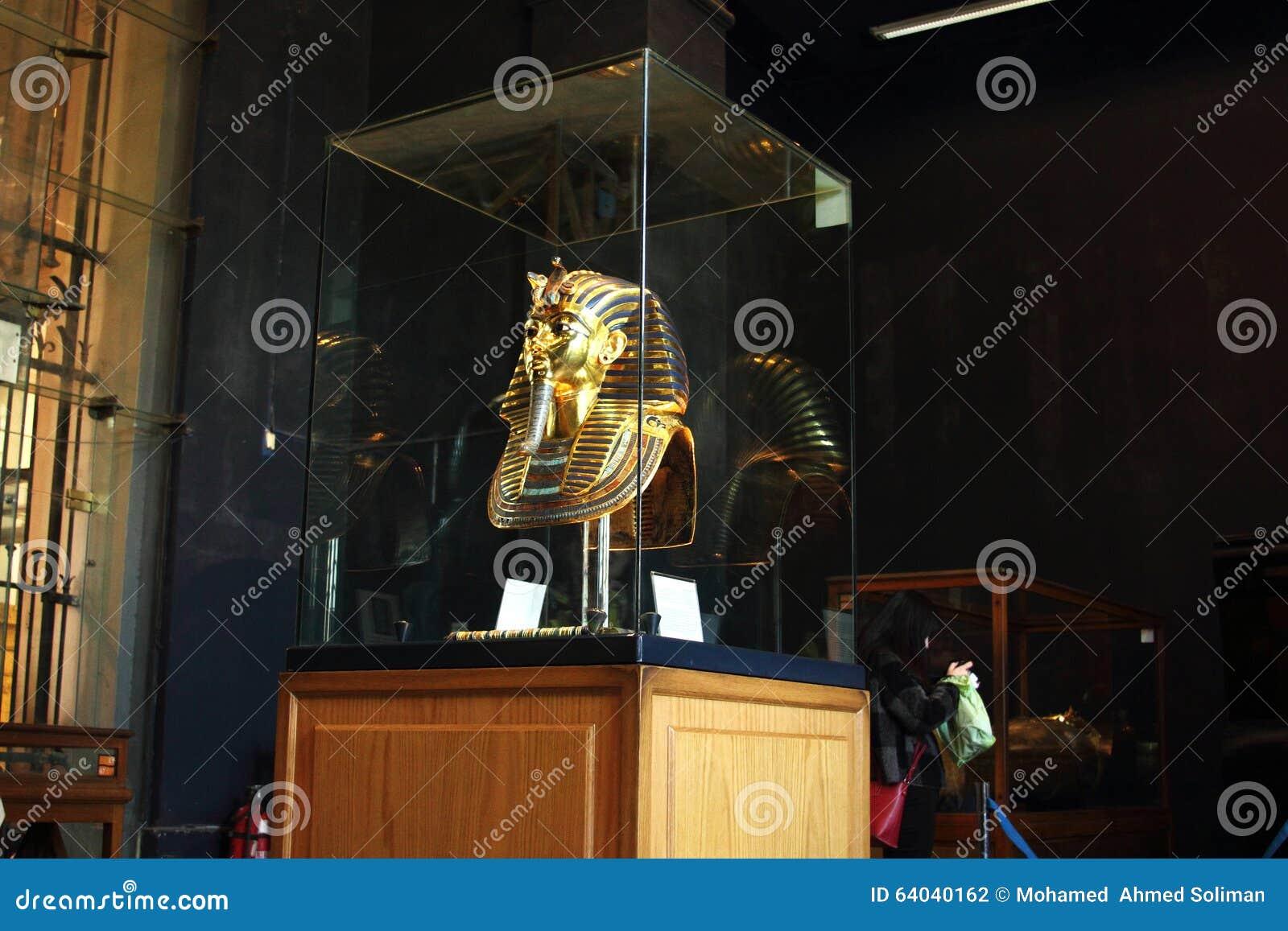 Tutankhamun im ägyptischen Museum