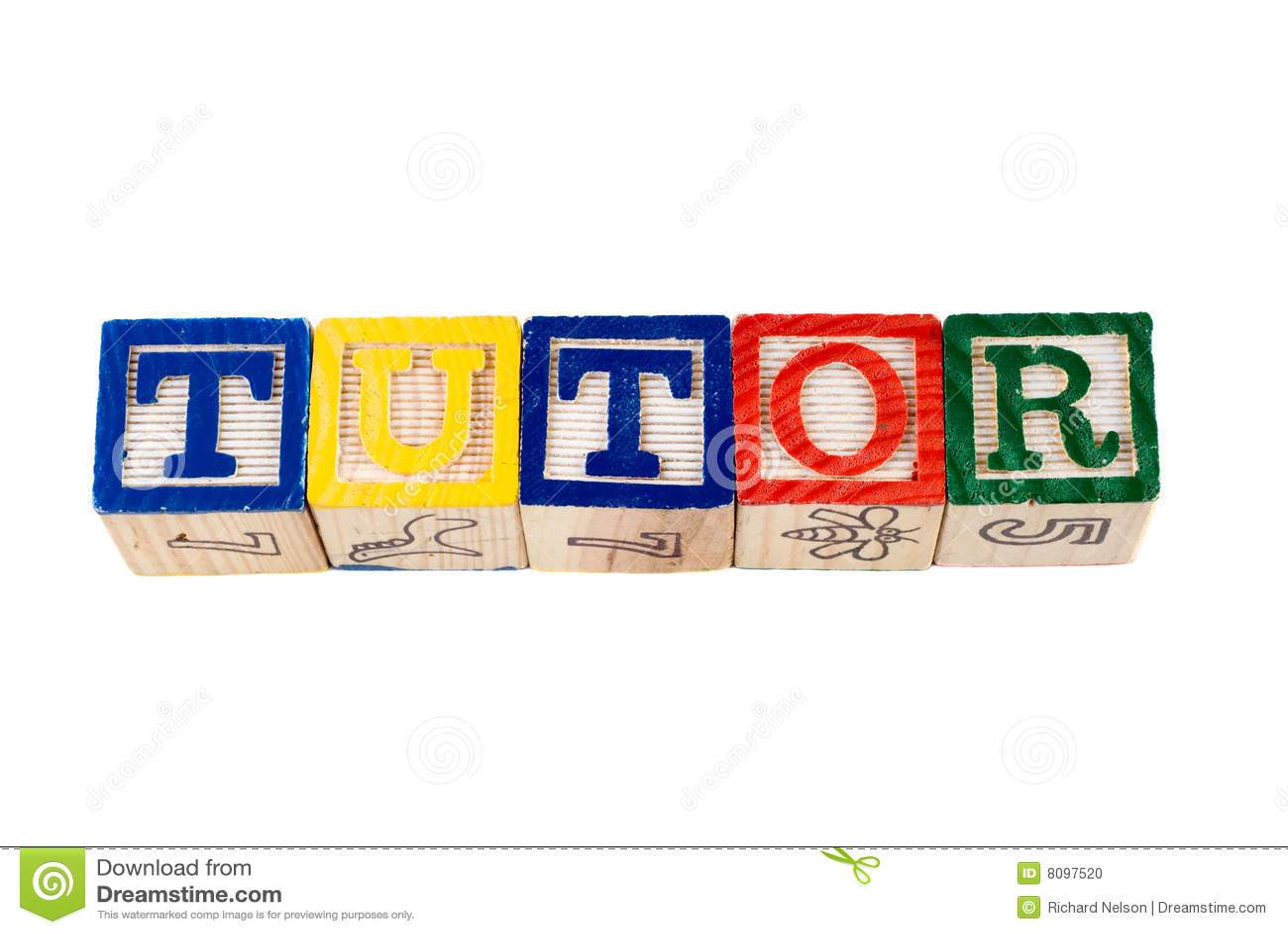 tutor stock photo