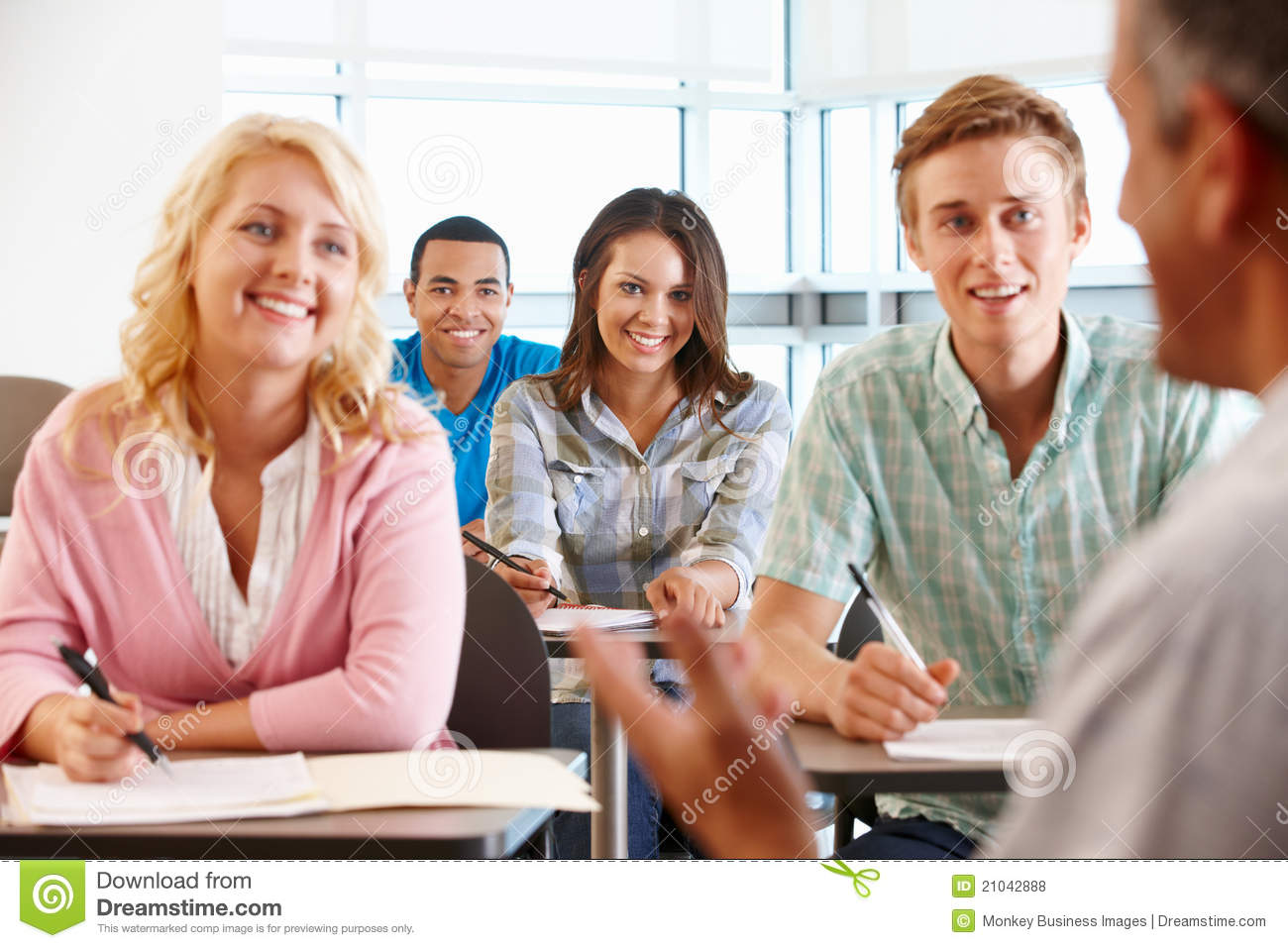 how to teach the students in the class