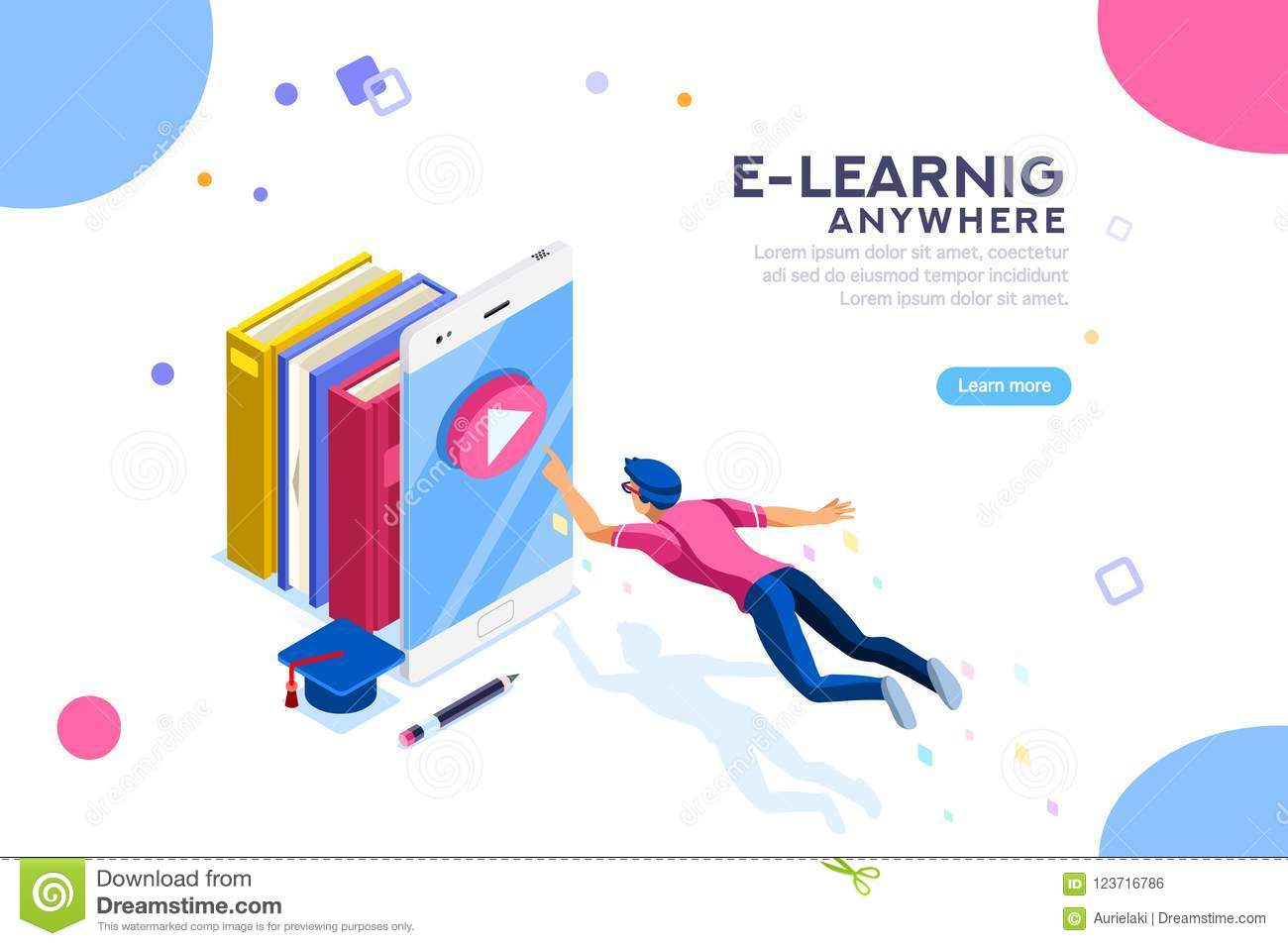 Tutorial Search E-Learning Anywhere Banner