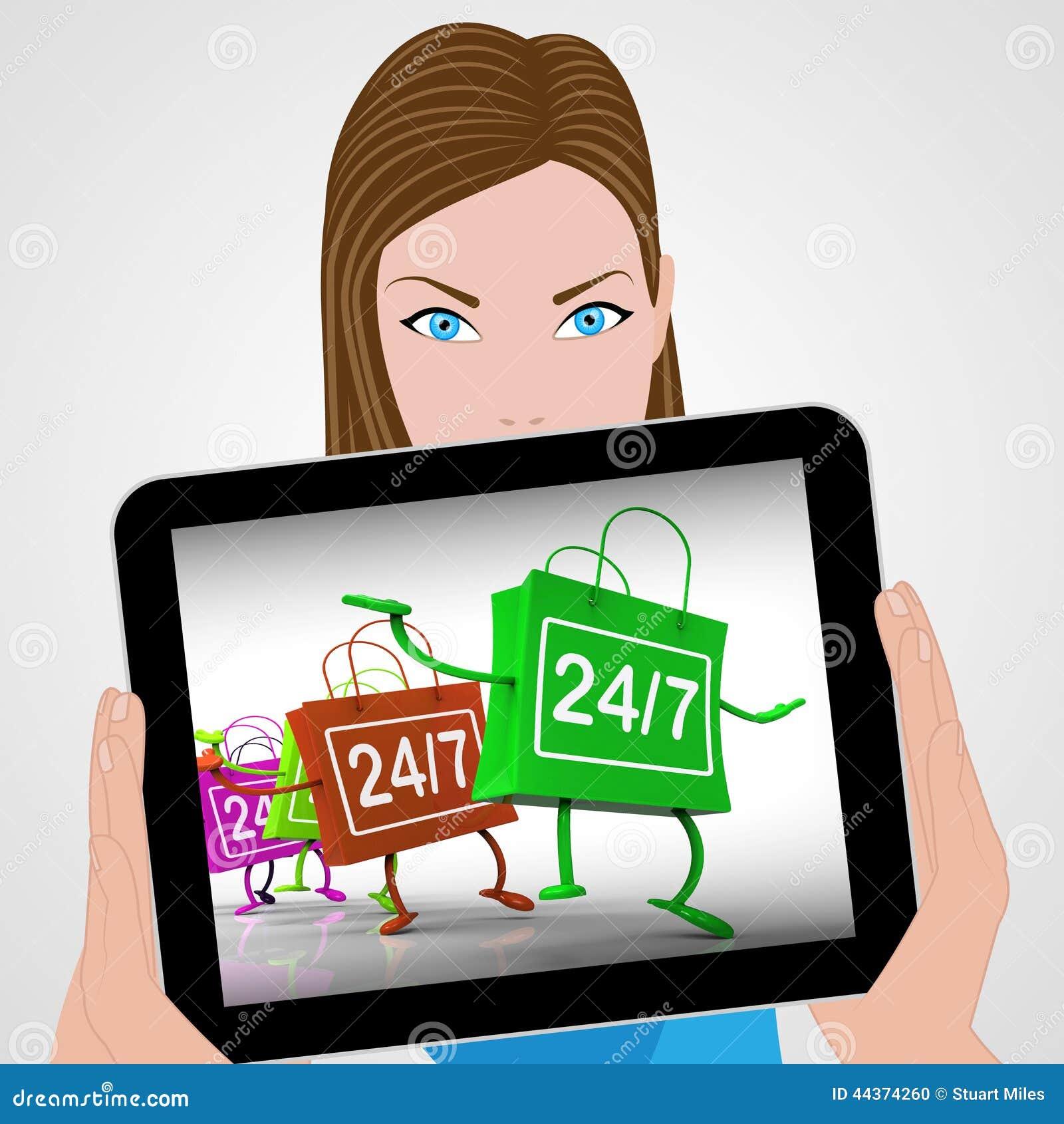 Tutti i giorni 24 ore su 24 insacca la disponibilità di compera delle esposizioni e la H aperta