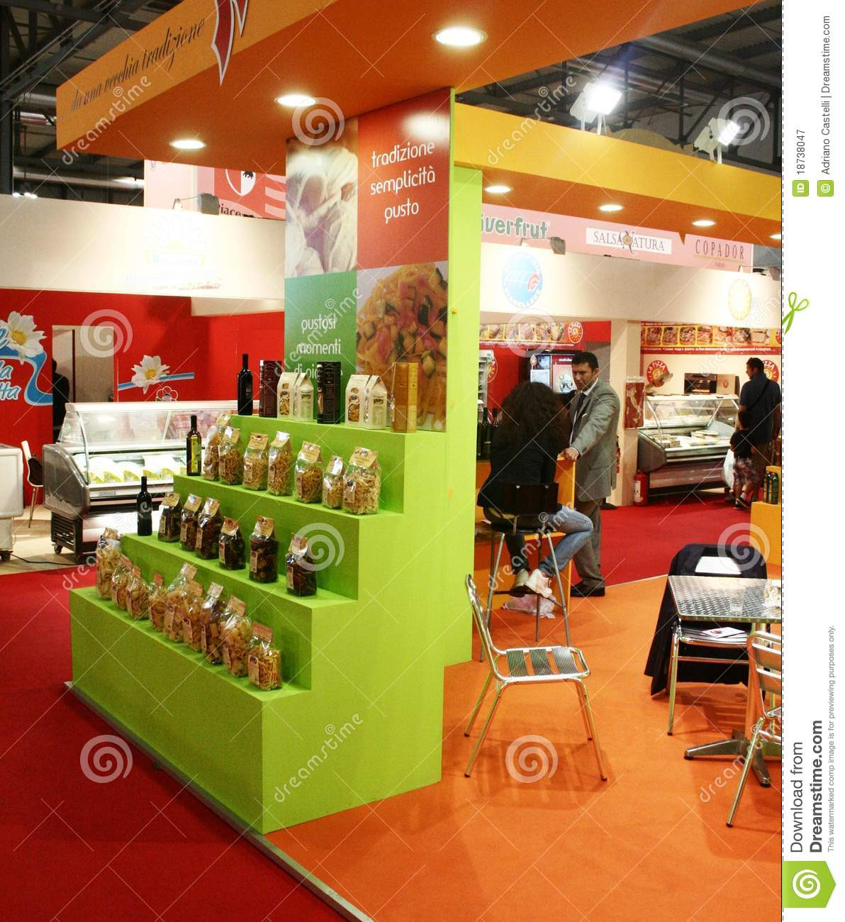 Exhibition Stand Food : Tuttofood milano world food exhibition editorial