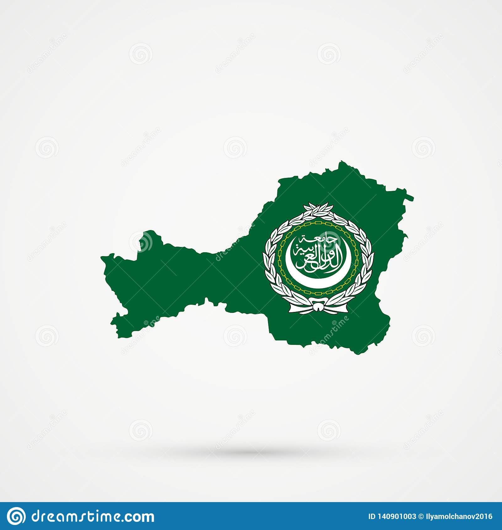 Picture of: Tuva Republic Map In Arab League Flag Colors Editable Vector Stock Vector Illustration Of League Europe 140901003