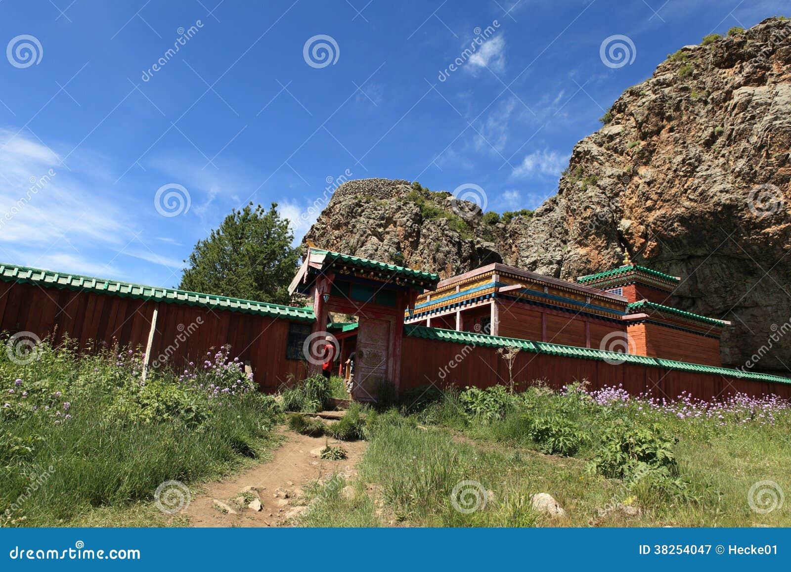 Tuvkhon修道院蒙古