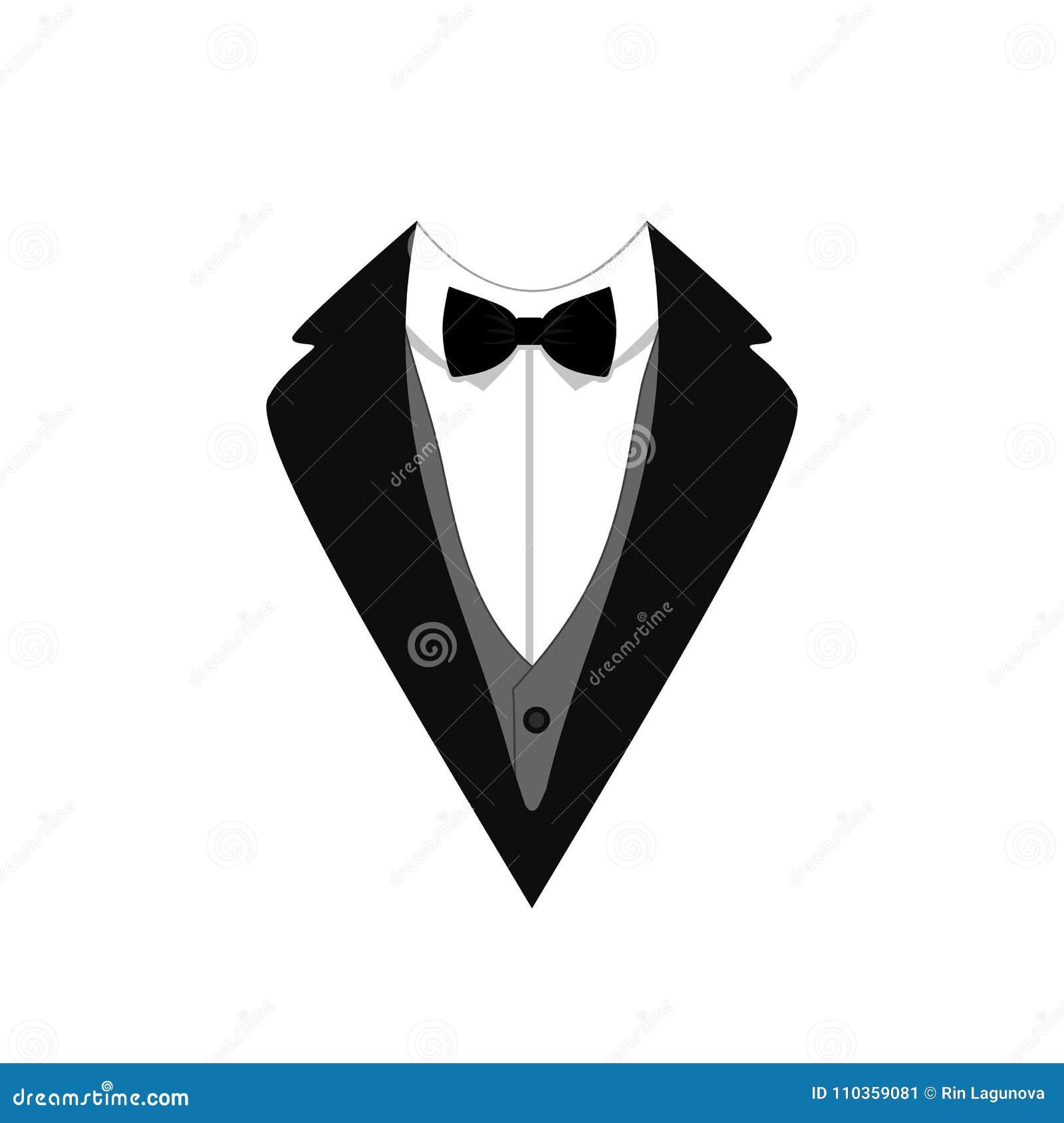 Tuxedo vector icon flat design vector illustration template download tuxedo vector icon flat design vector illustration template ceremony official dressing maxwellsz