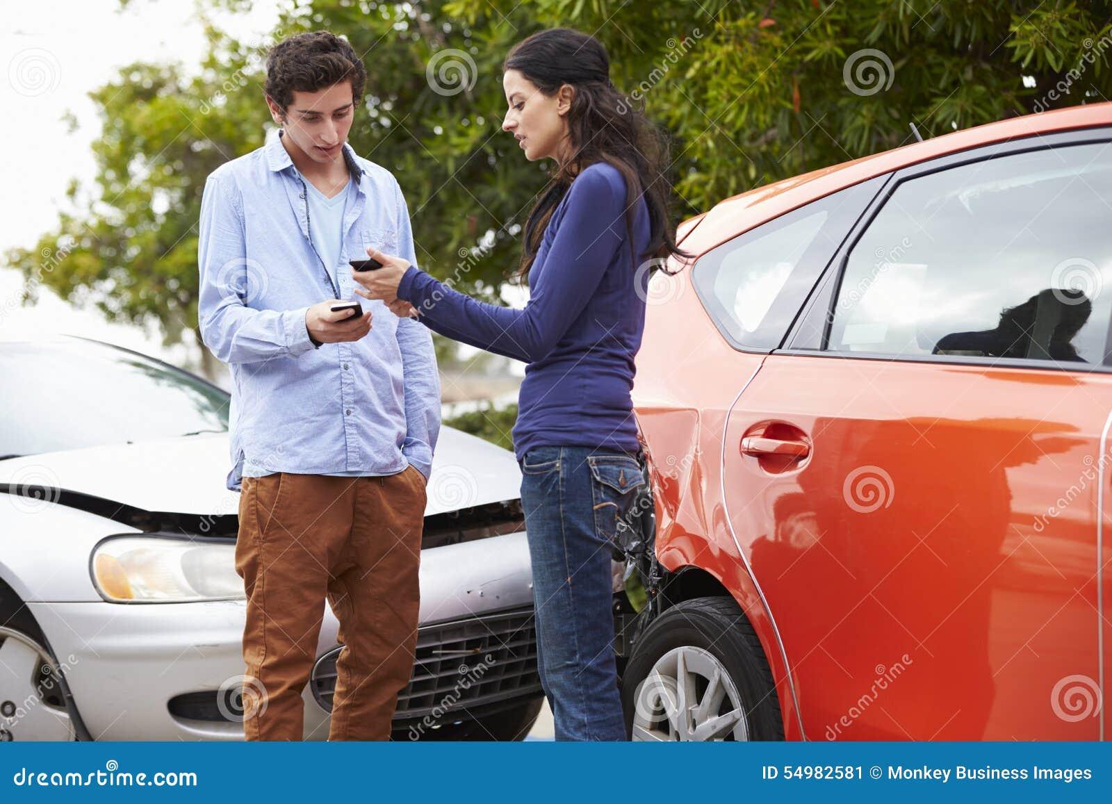 Två detaljer för chaufförutbytesförsäkring efter olycka