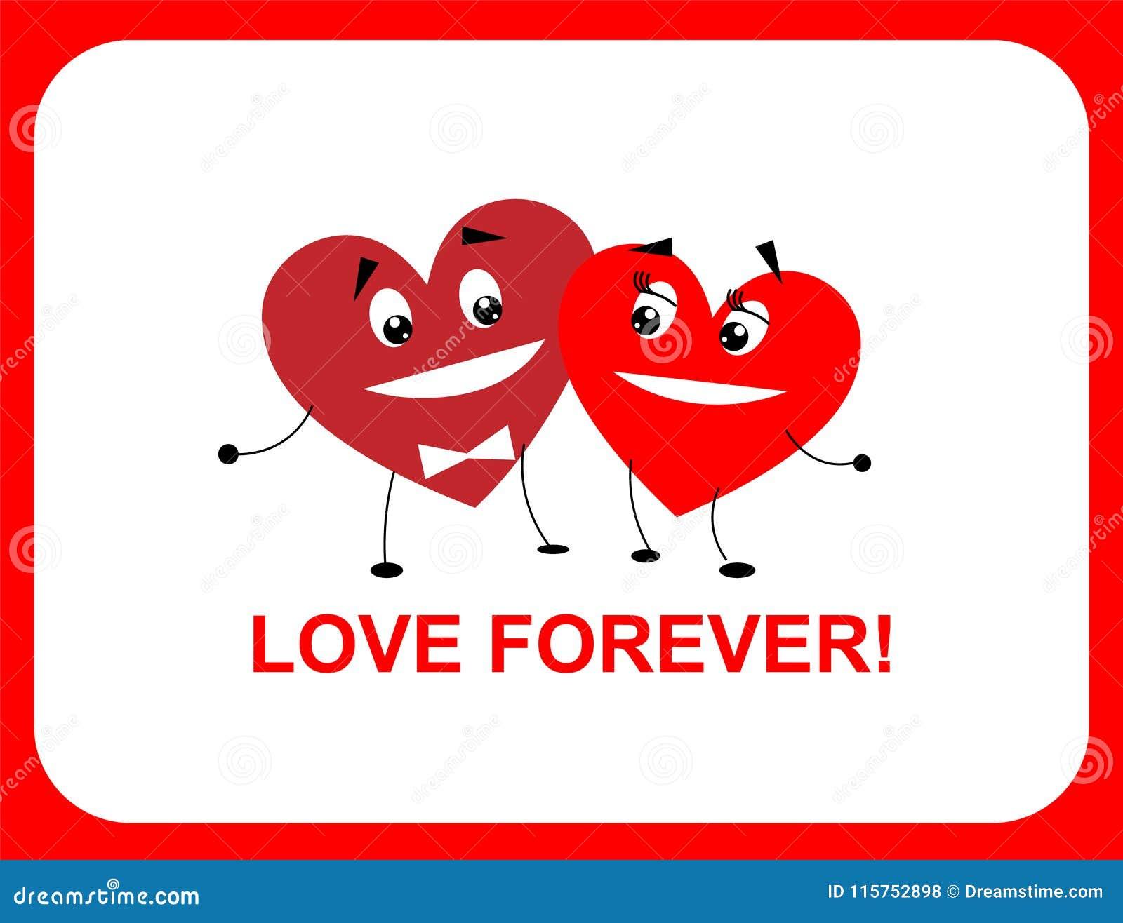 Två hjärtor, förälskelseför evigt, lägenhet