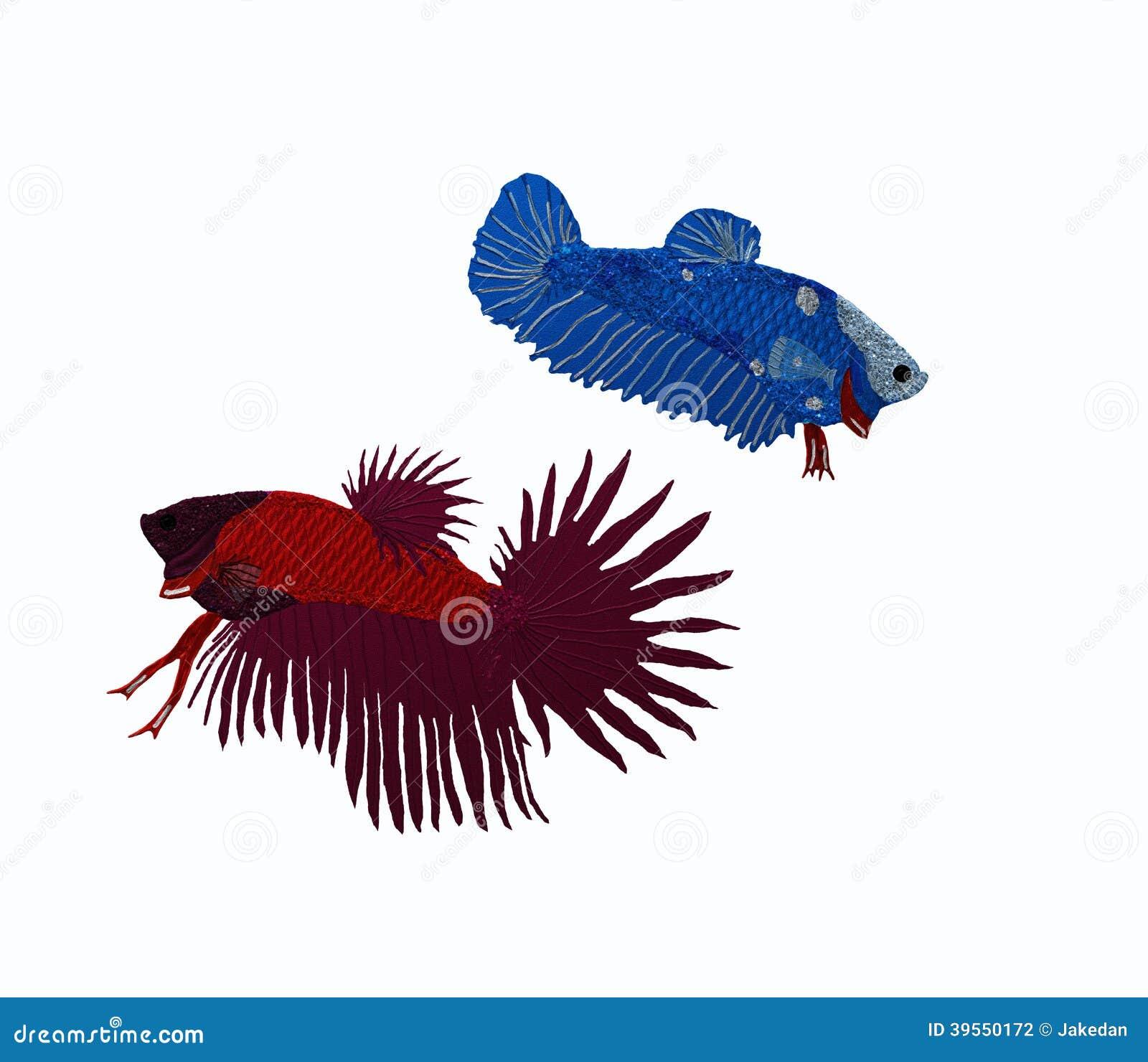 Två siamese fiskmän