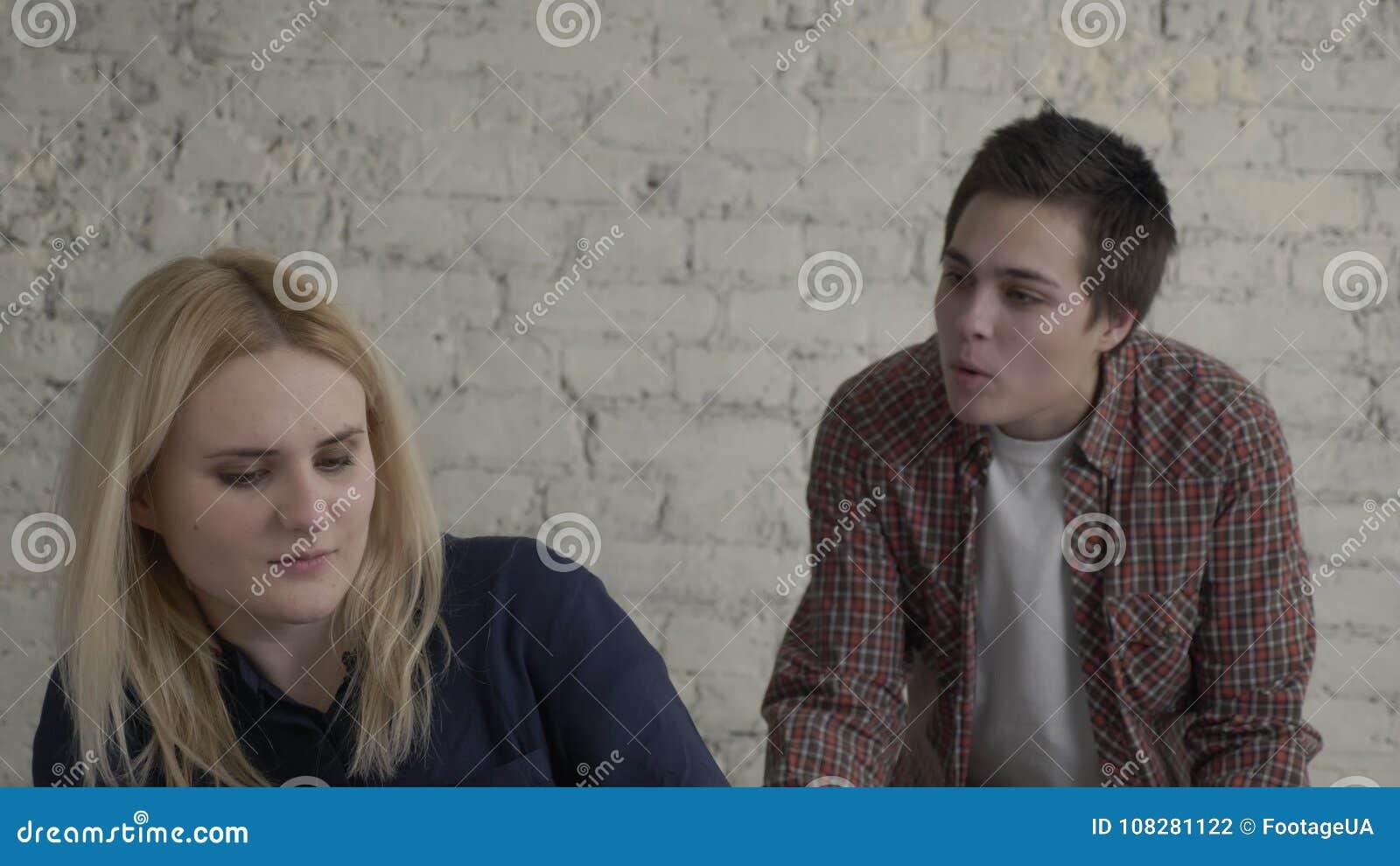 Ung lesbisk vid