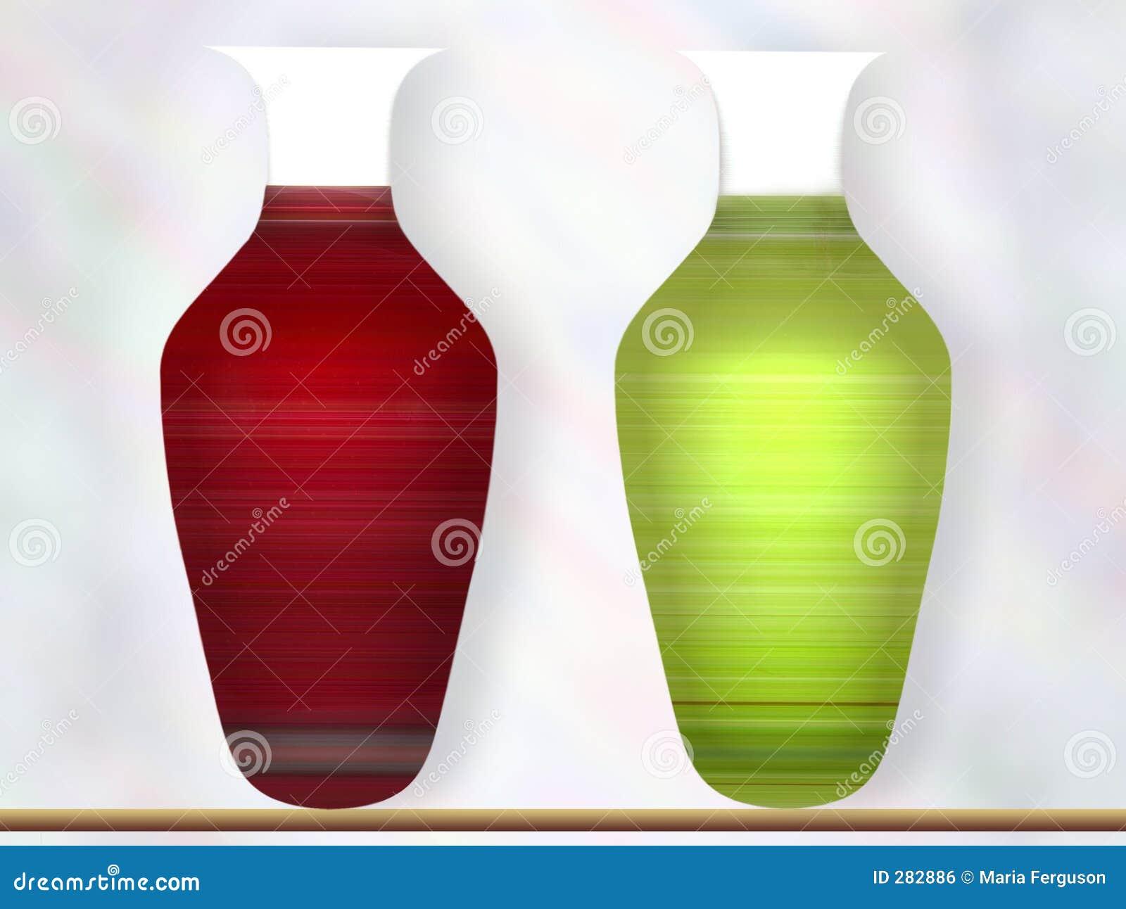 Två vases