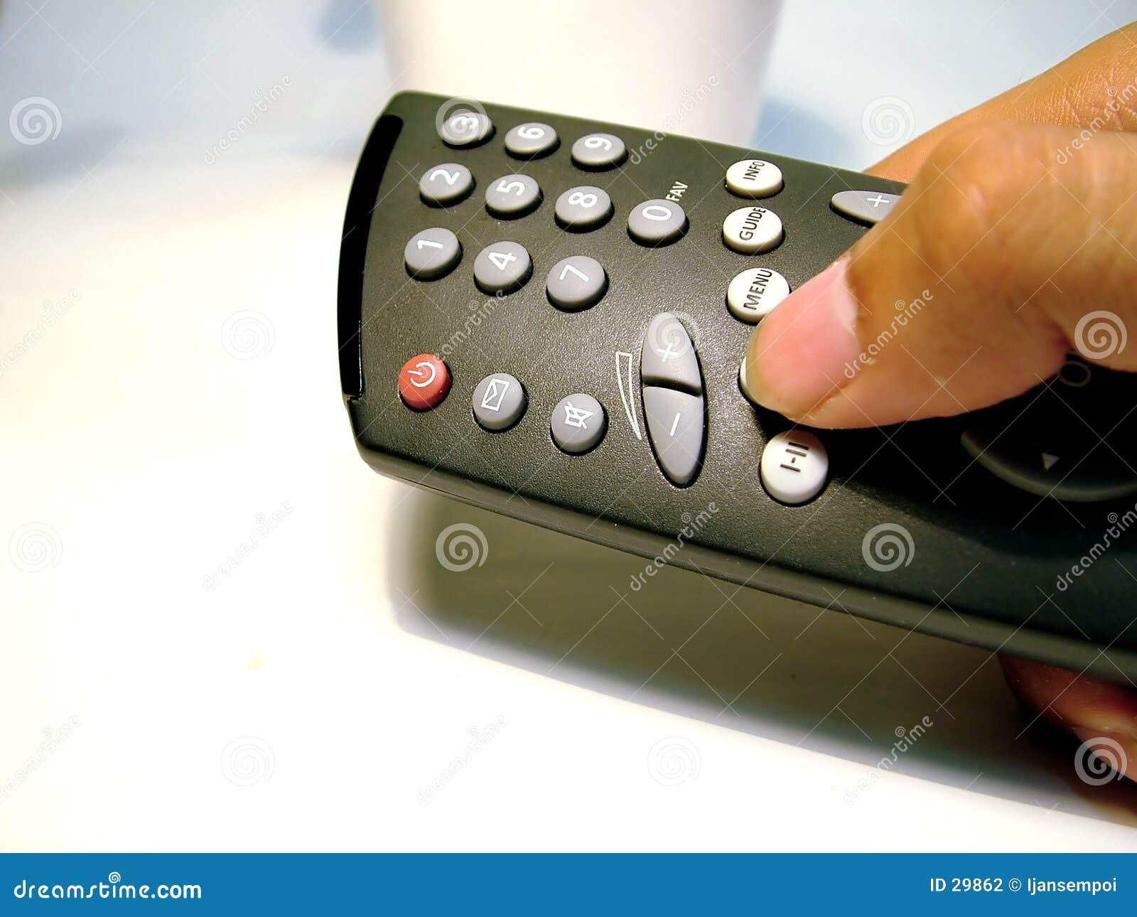 TV à télécommande