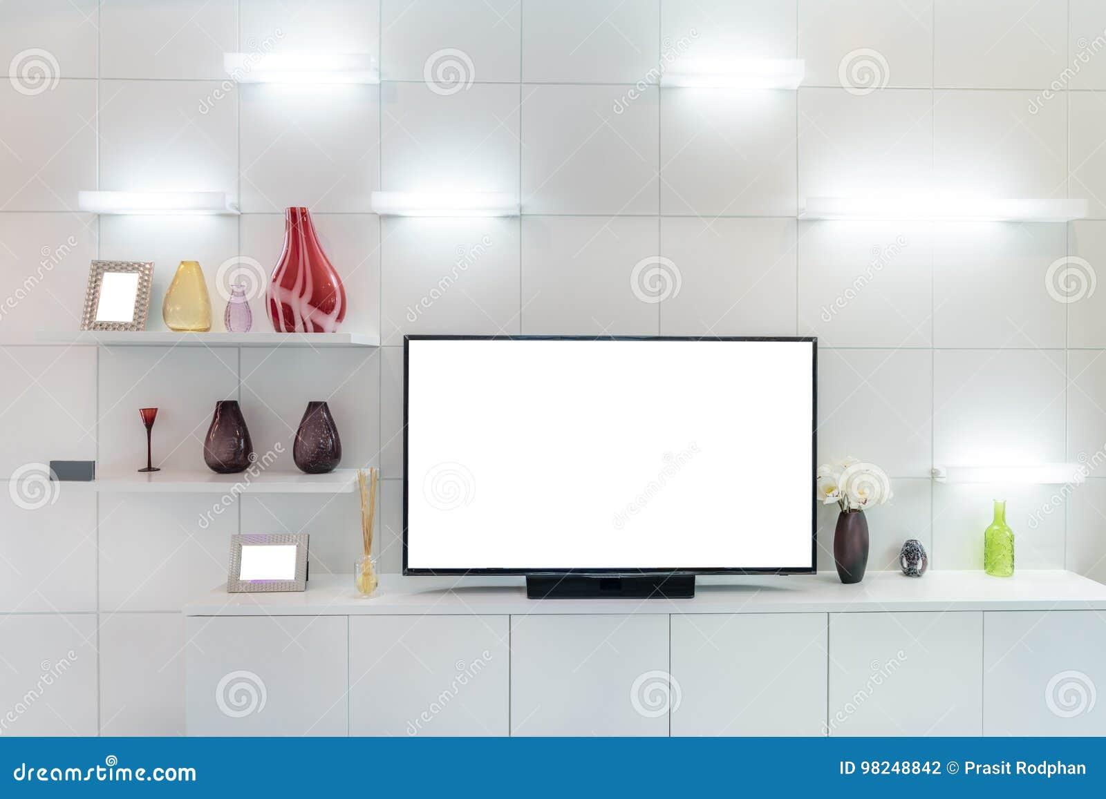 TV και ράφι στο σύγχρονο ύφος καθιστικών Ξύλινα έπιπλα ι