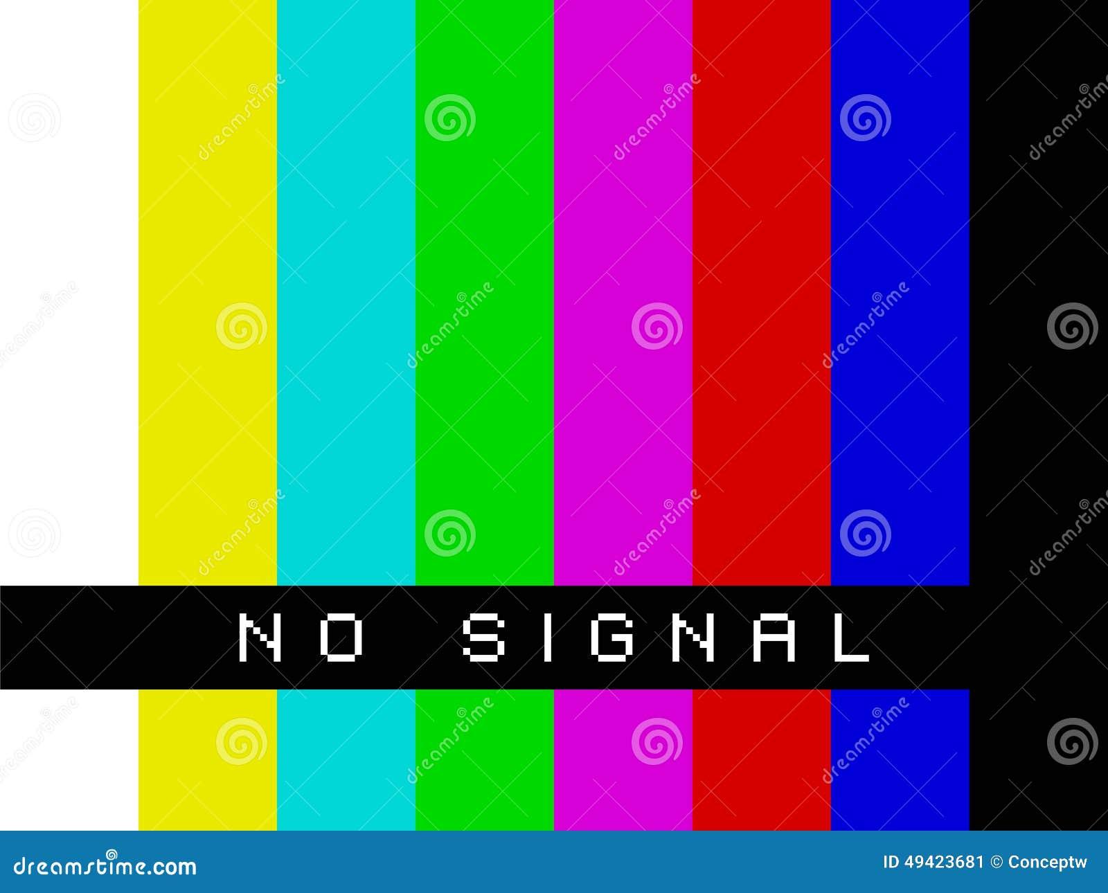 TV Żadny sygnał