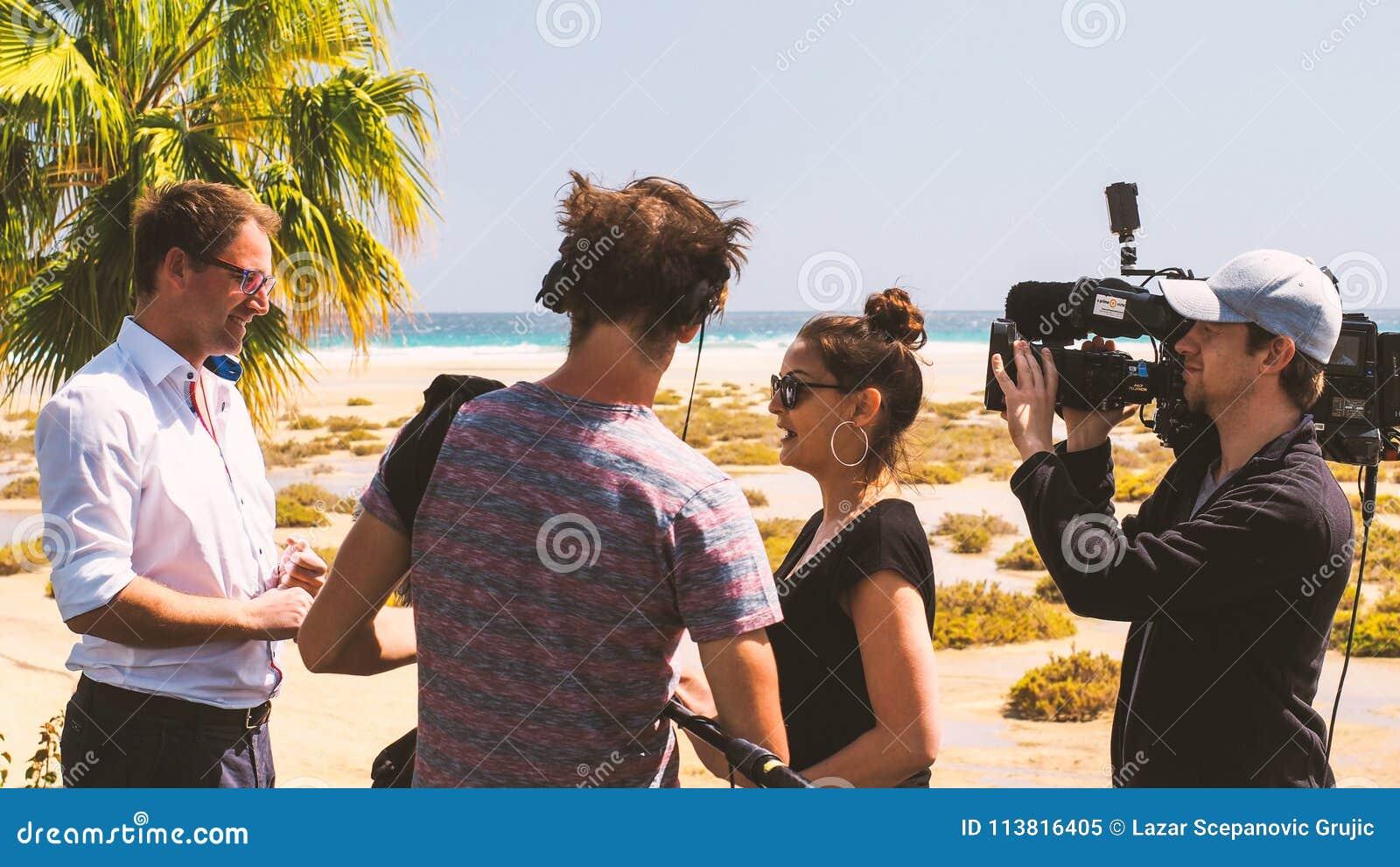 TV-bemanning op reeks