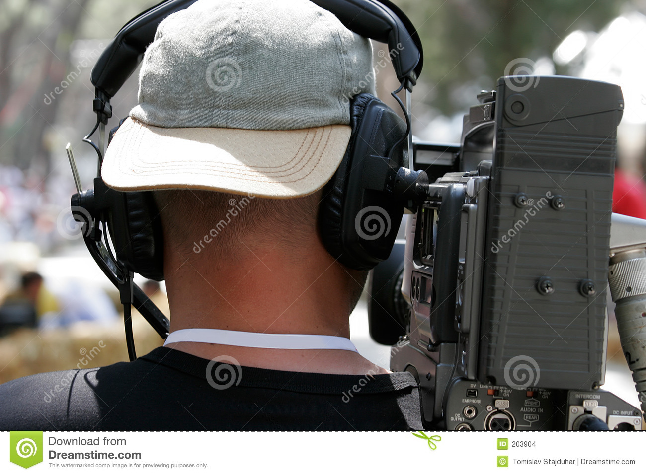 Tv camera crew stock photo image of emit camera scene for Camera tv web