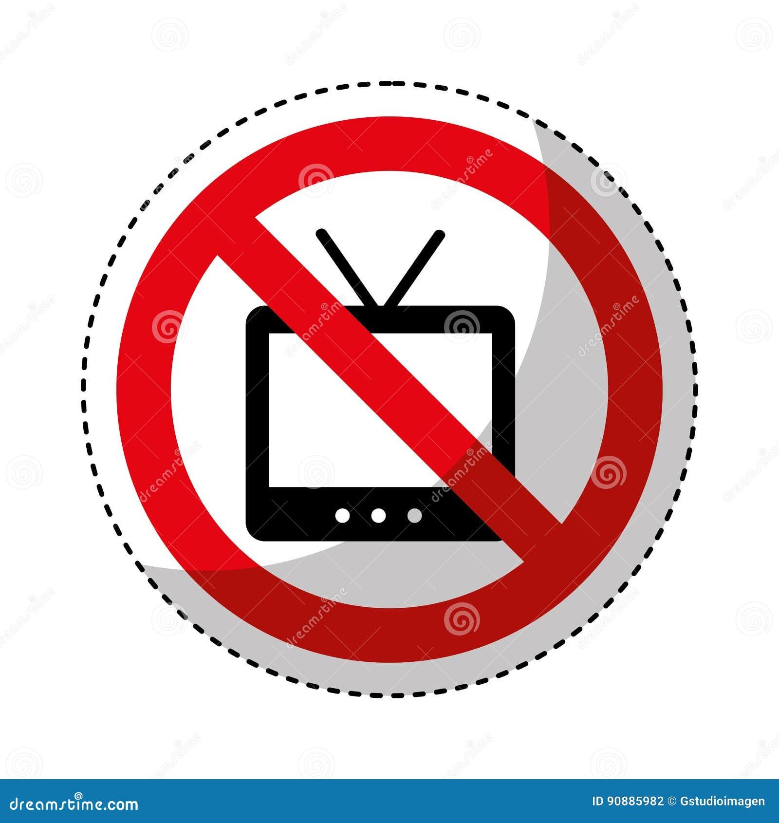 TV con il segno negato