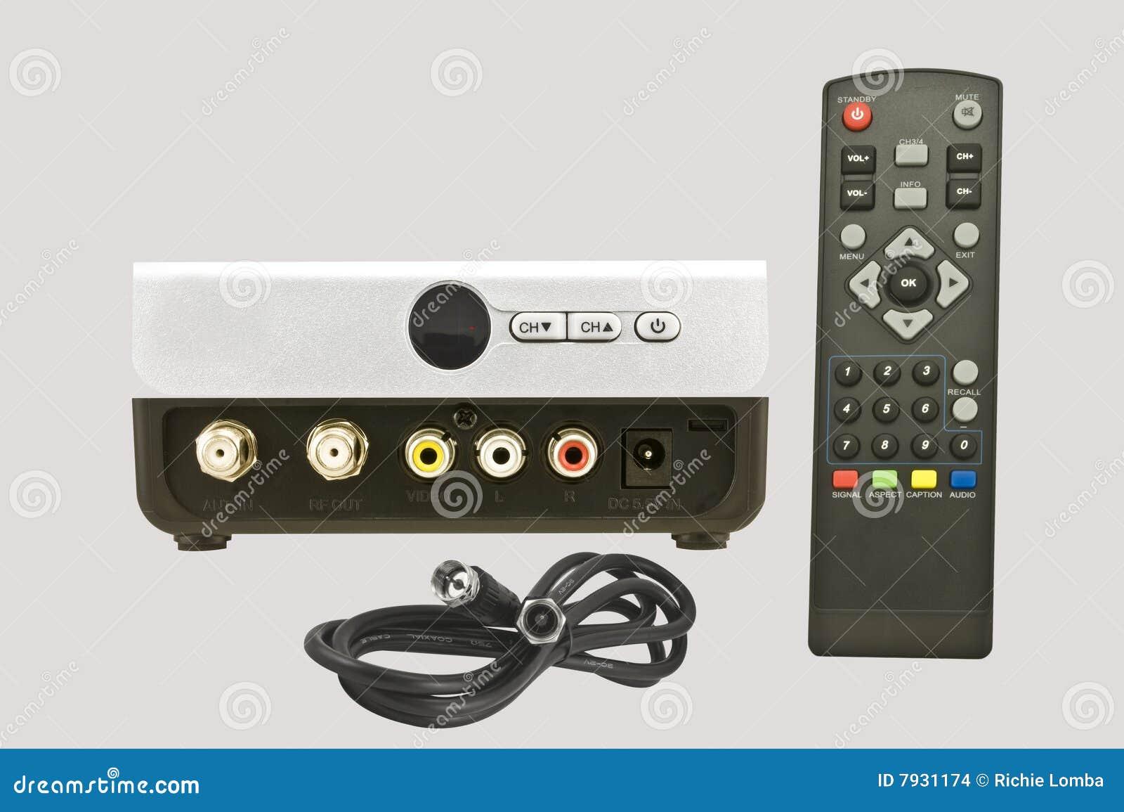 Tv Converter: Tv Converter Or Remote