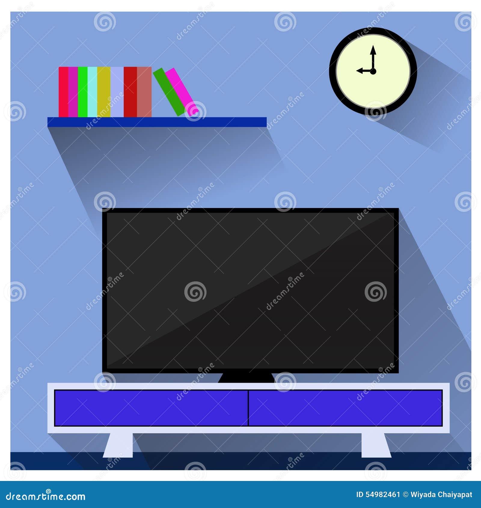 TV i vardagsrumet