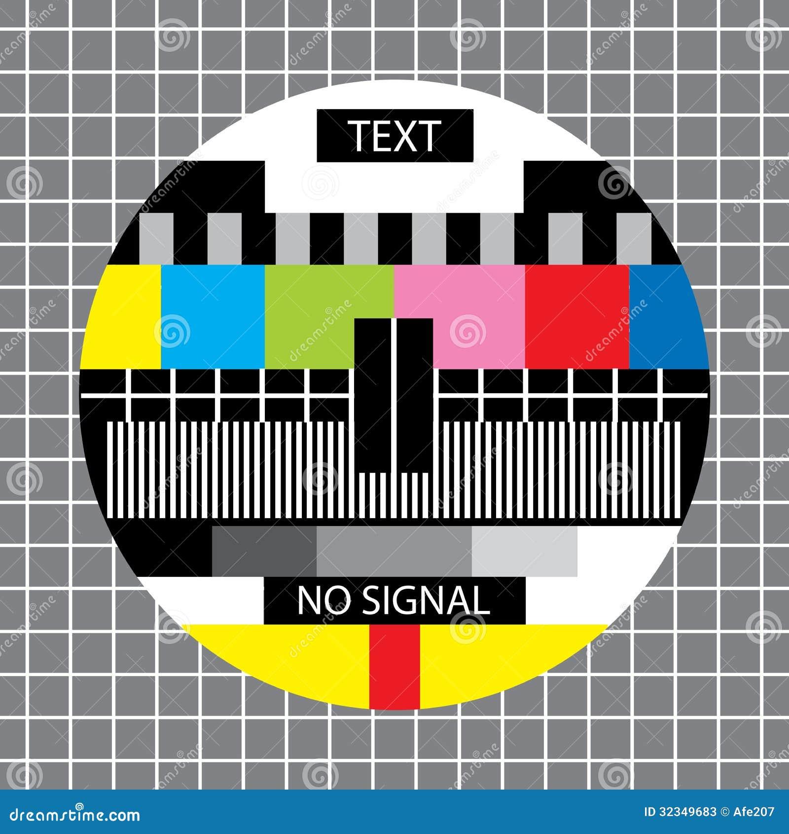 ingen tv signal