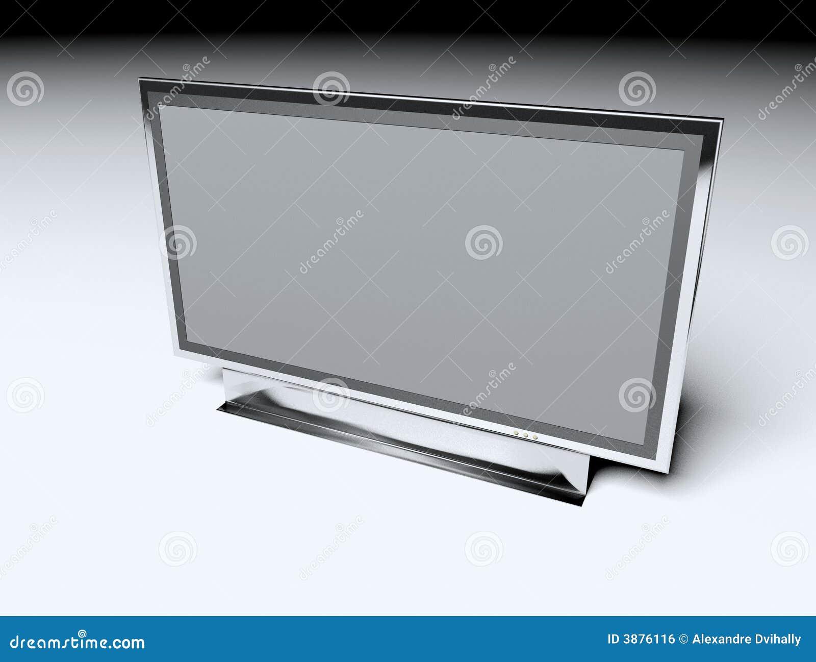 TV piana - Affissione a cristalli liquidi