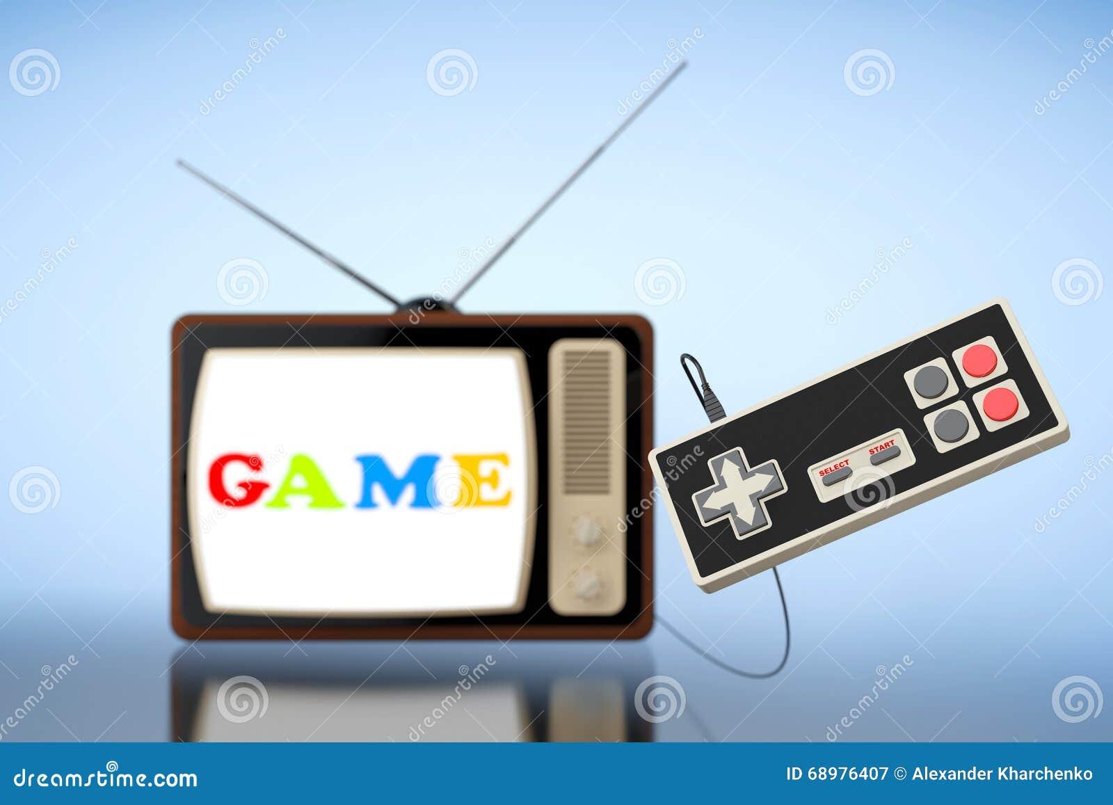TV retra con el regulador abstracto del juego
