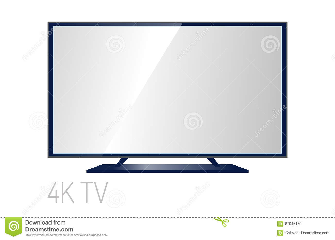 tv screen lcd monitor template electronic device technology digital
