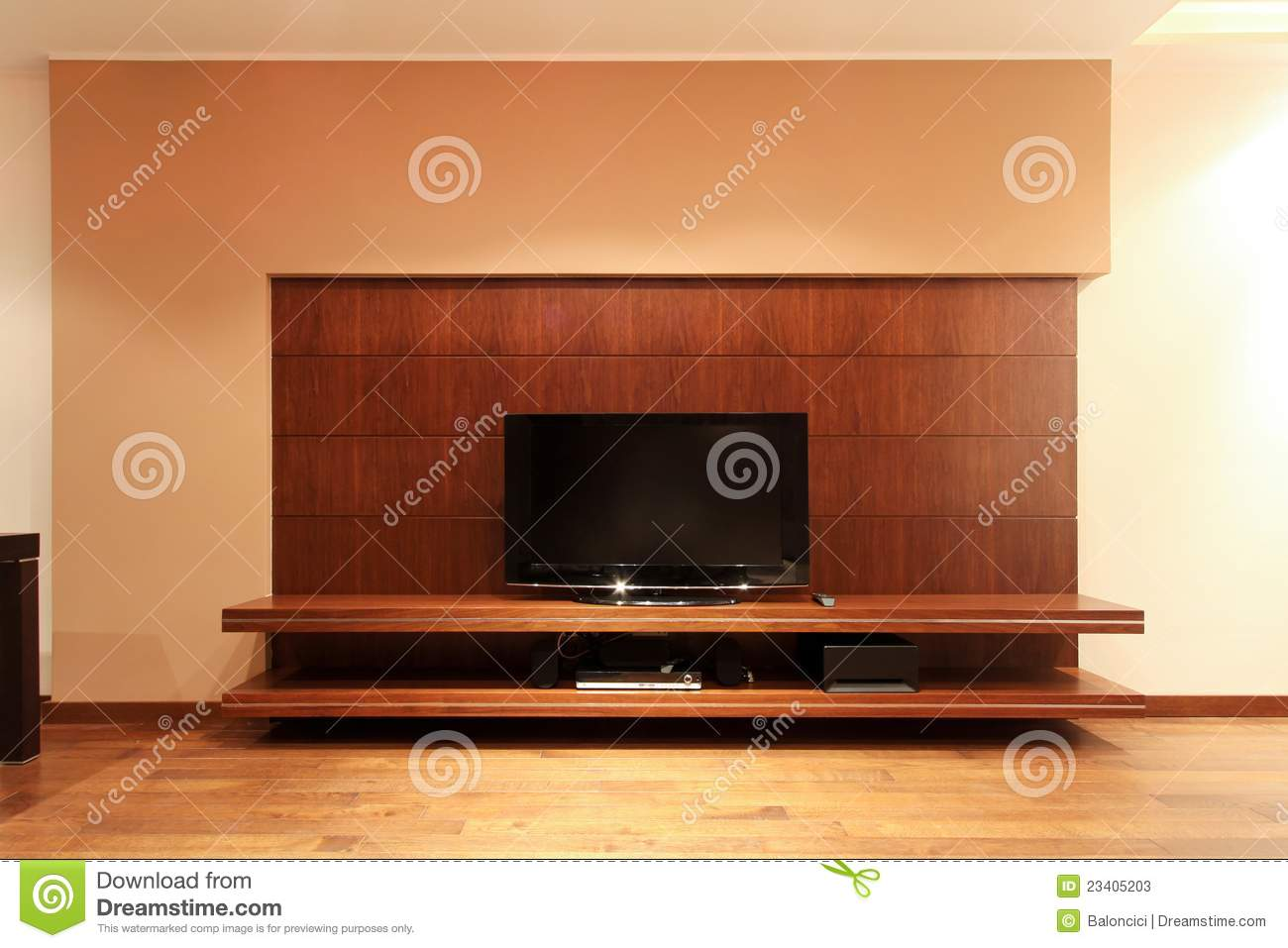 TV Shelf Stock Photos - Image: 23405203