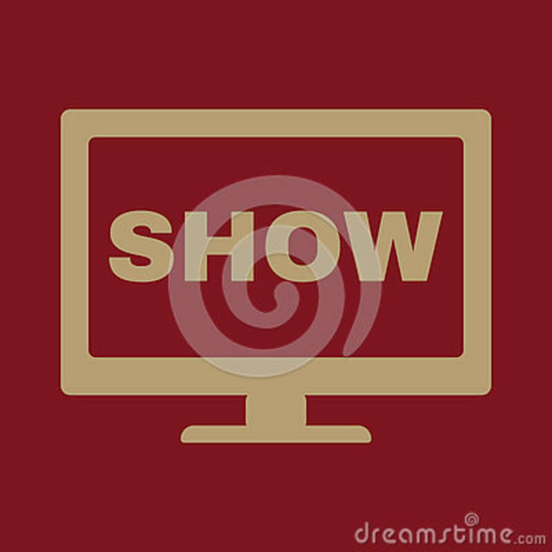 The Tv Show Icon Television And Telly Telecasting Broadcast