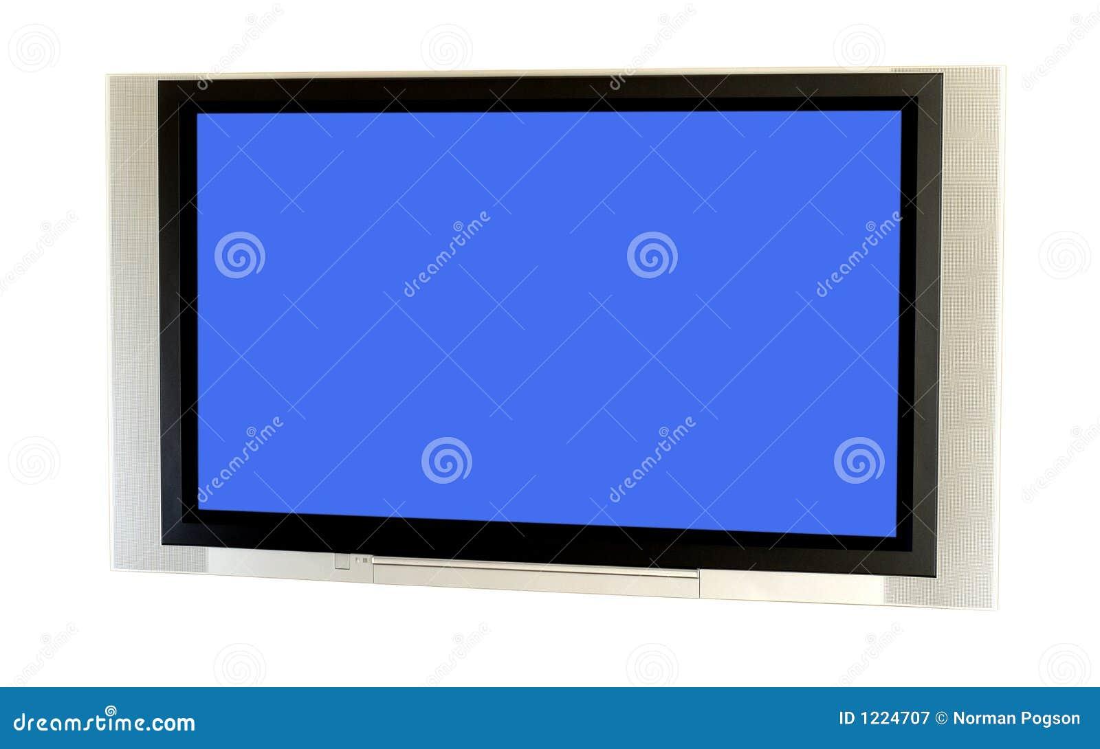 TV van het plasma.