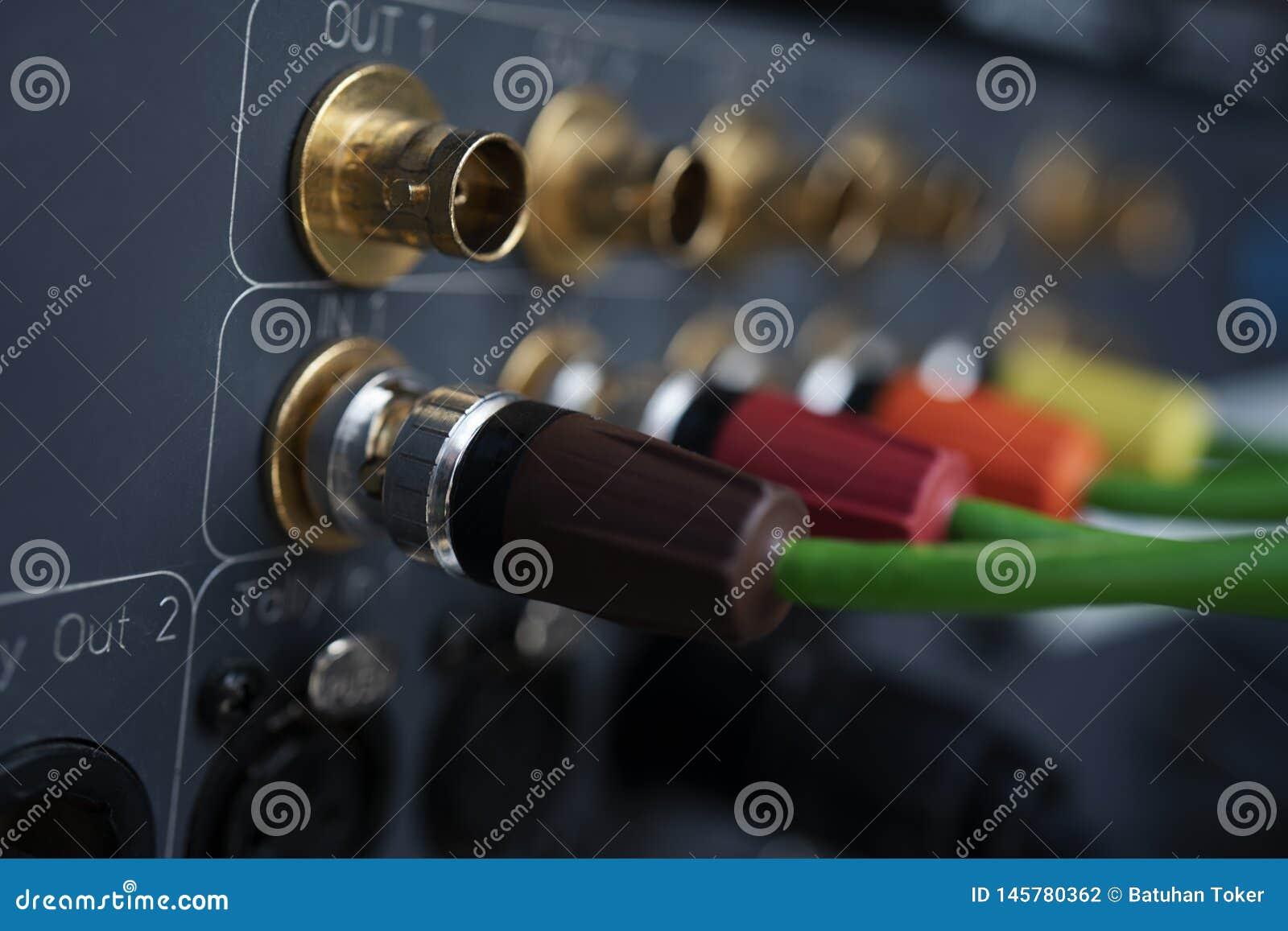 TV współosiowy typ magnetofonowy przyrząd