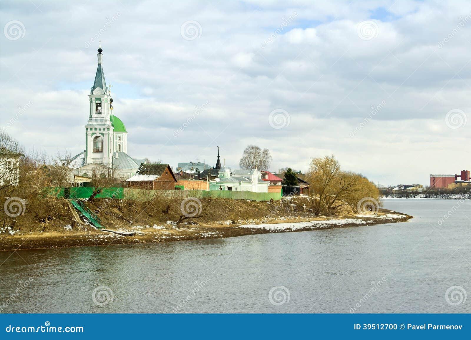 Tver. Μονή καλογραιών της Catherine. Εκκλησία της Catherine
