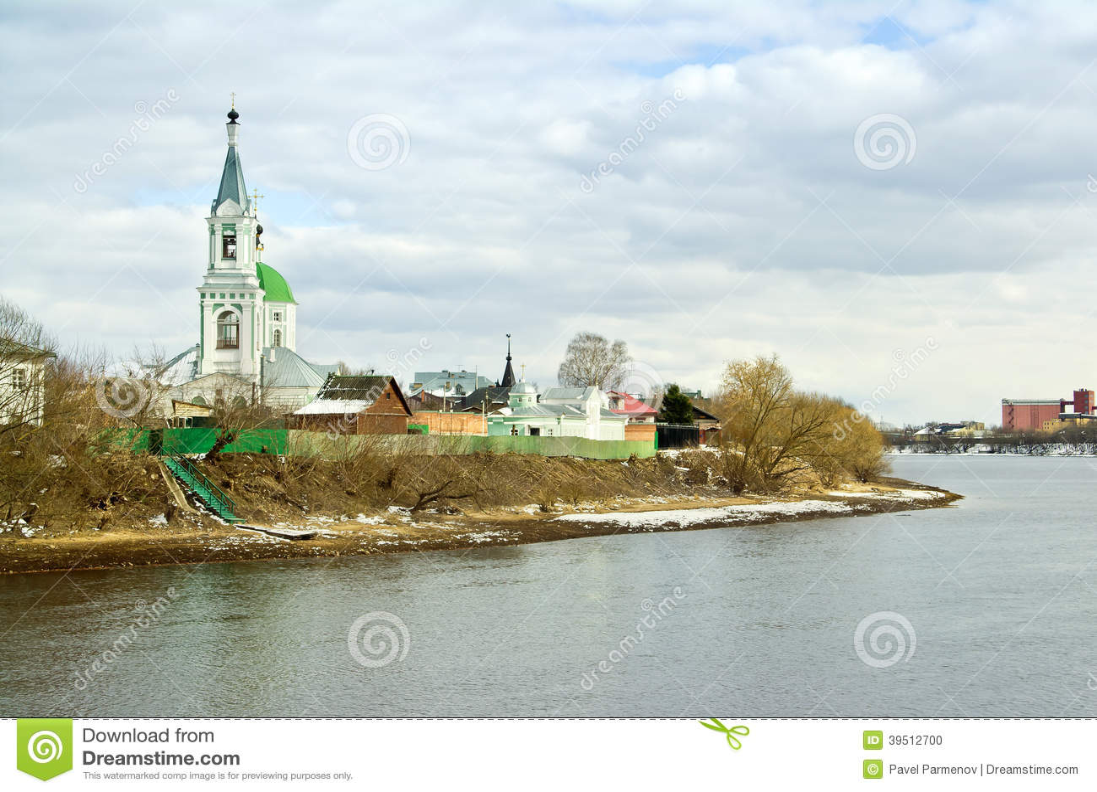 Tver. Couvent de Catherine. Église de Catherine